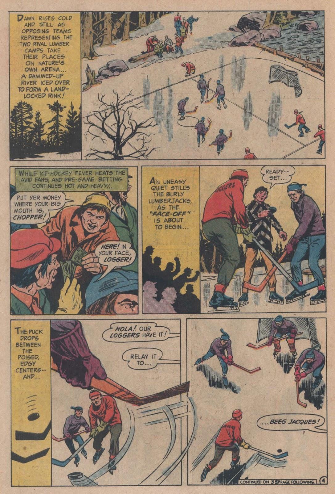 Read online Strange Sports Stories (1973) comic -  Issue #5 - 6