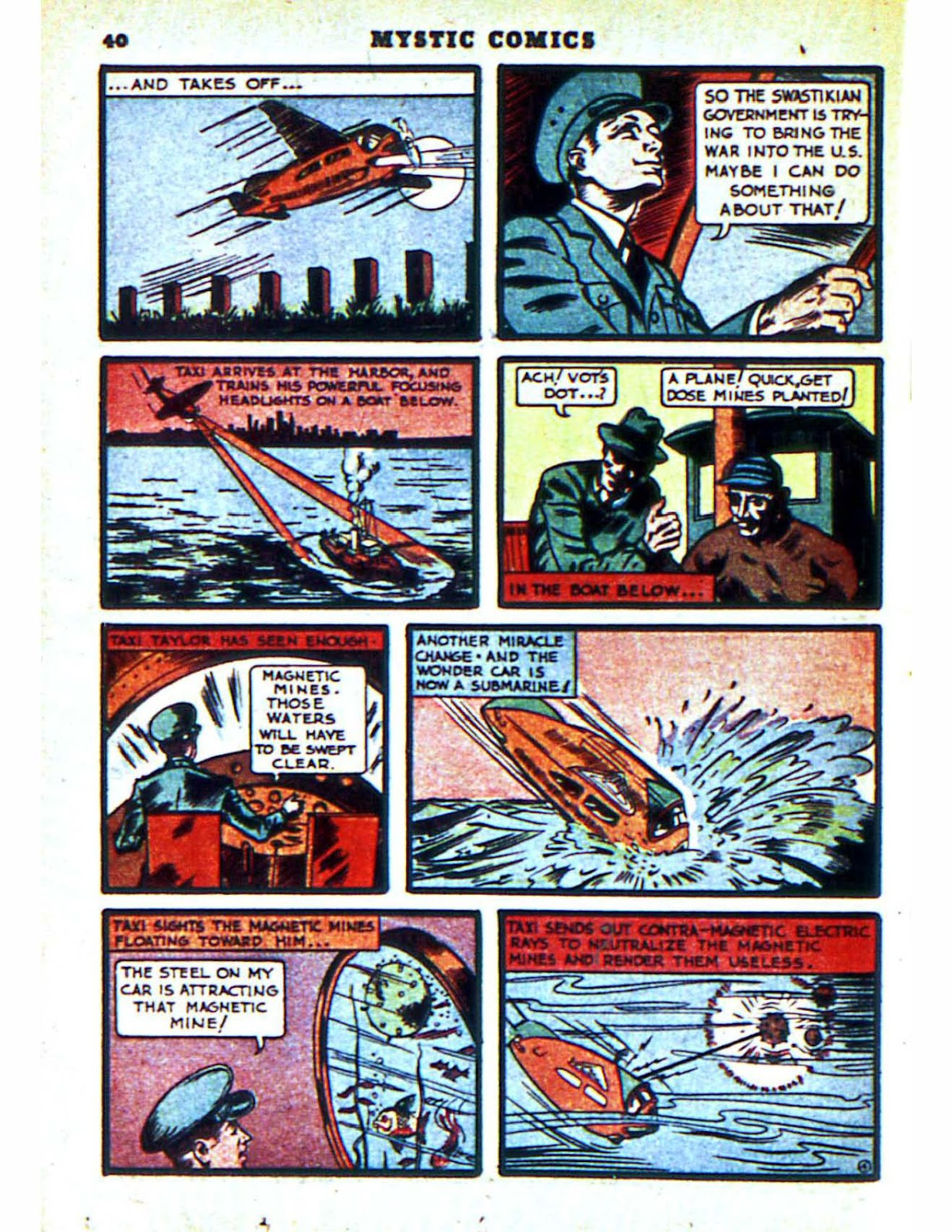 Mystic Comics (1940) issue 2 - Page 42