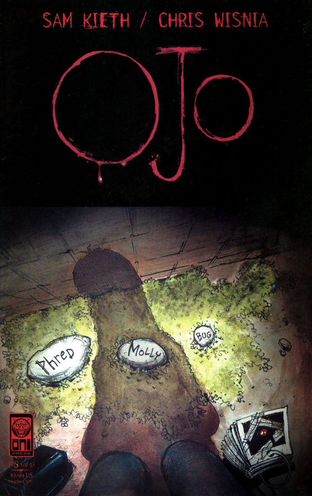 Read online Ojo comic -  Issue #5 - 1
