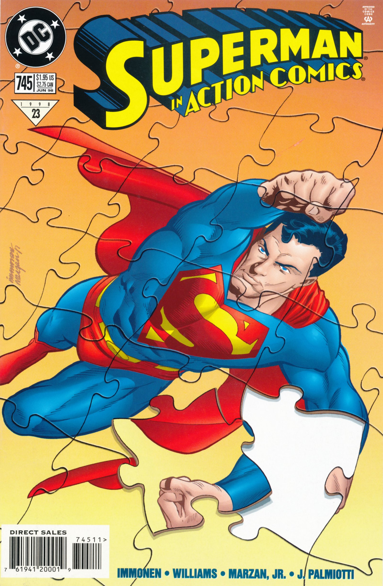 Action Comics (1938) 745 Page 1