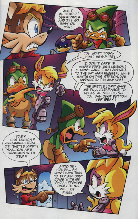 Read online Sonic Universe comic -  Issue #18 - 21
