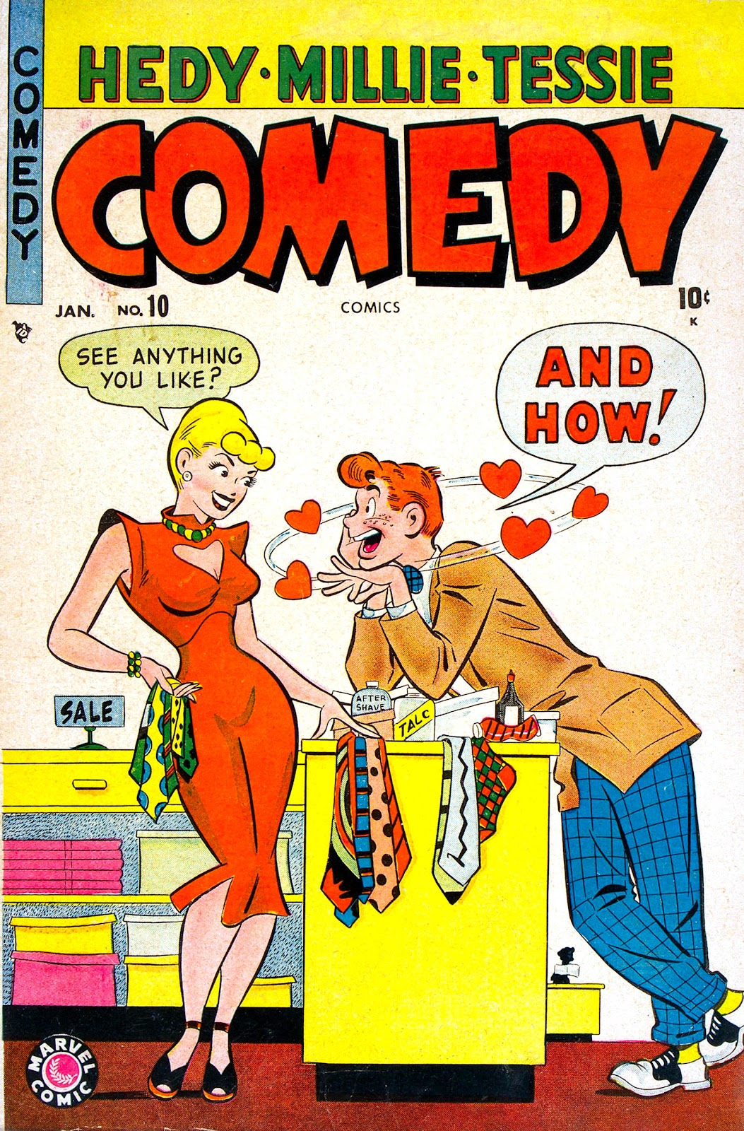 Comedy Comics (1948) issue 10 - Page 1