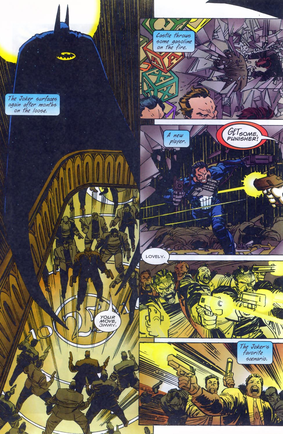 Read online Punisher/Batman: Deadly Knights comic -  Issue # Full - 28