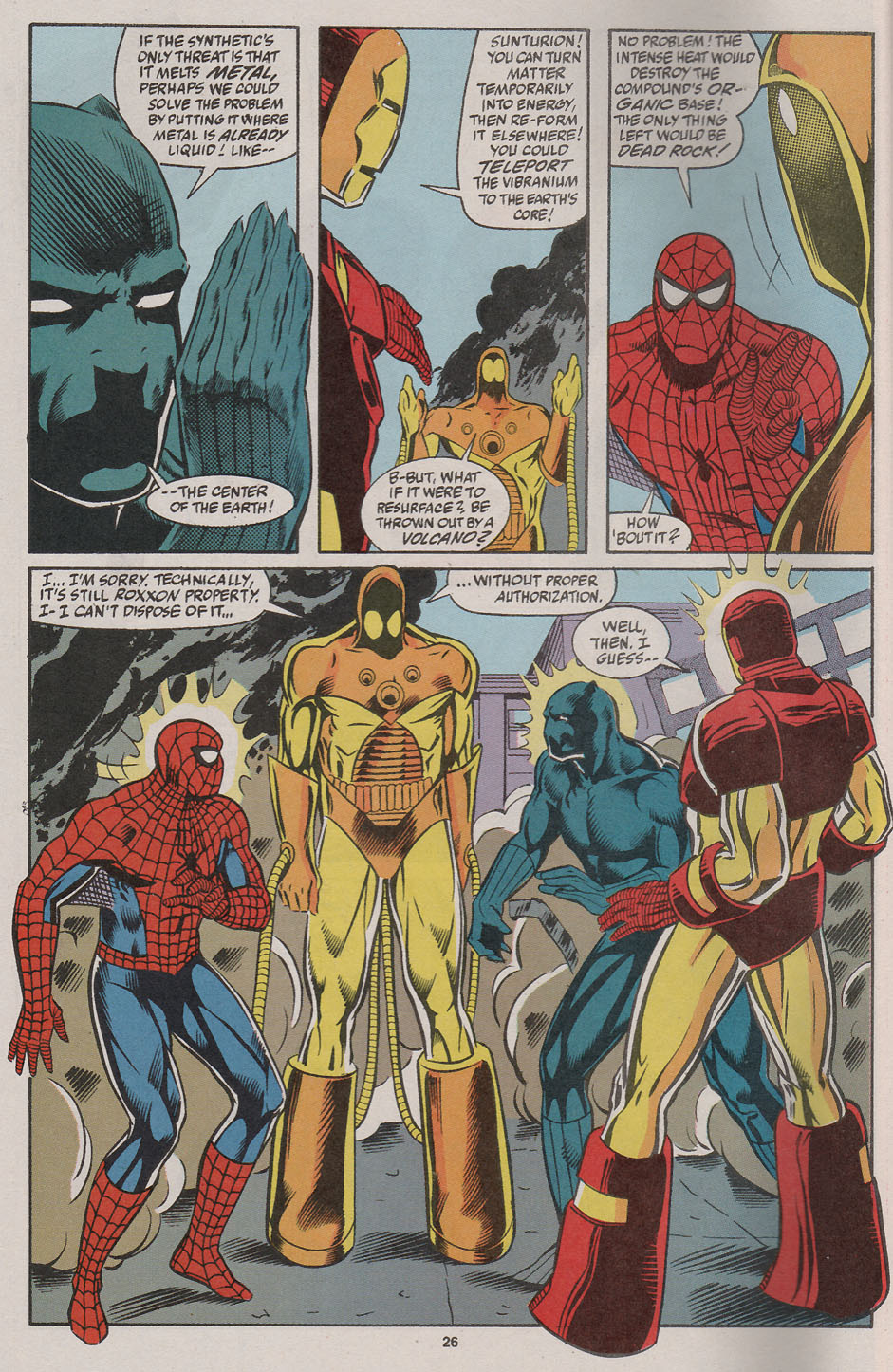 Web of Spider-Man (1985) _Annual 7 #7 - English 22