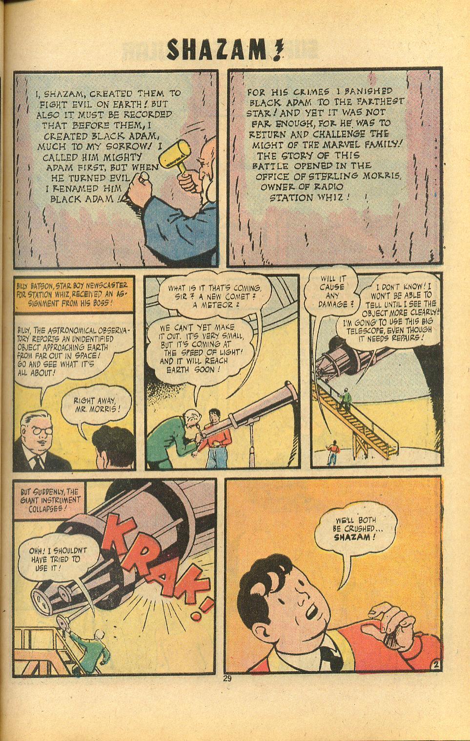 Read online Shazam! (1973) comic -  Issue #8 - 29