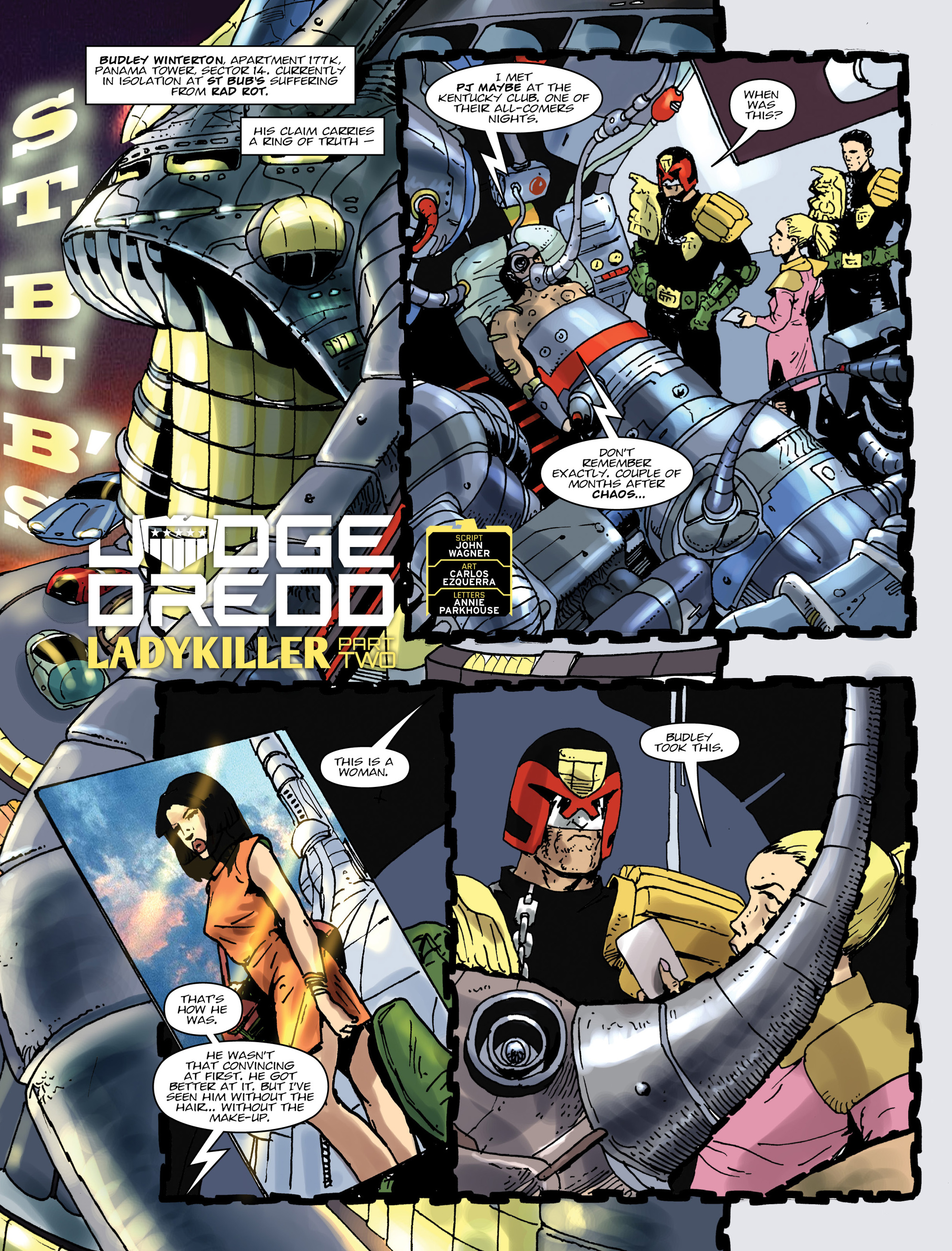 Read online 2000 AD comic -  Issue #1992 - 3