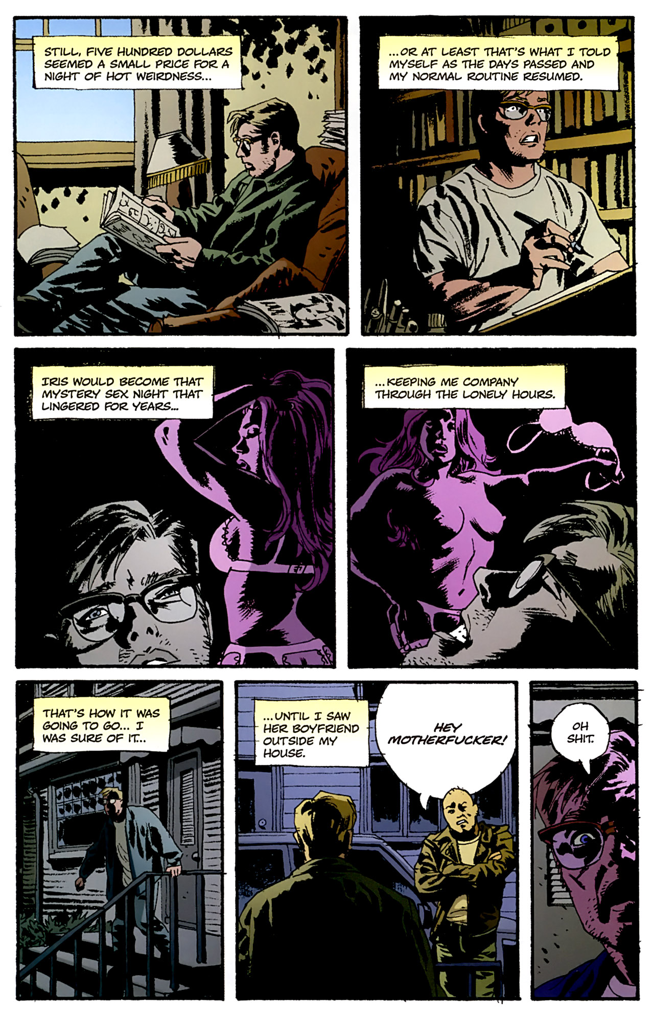 Read online Criminal (2008) comic -  Issue #4 - 24