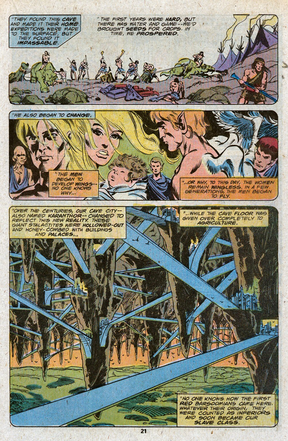 John Carter Warlord of Mars issue 19 - Page 23