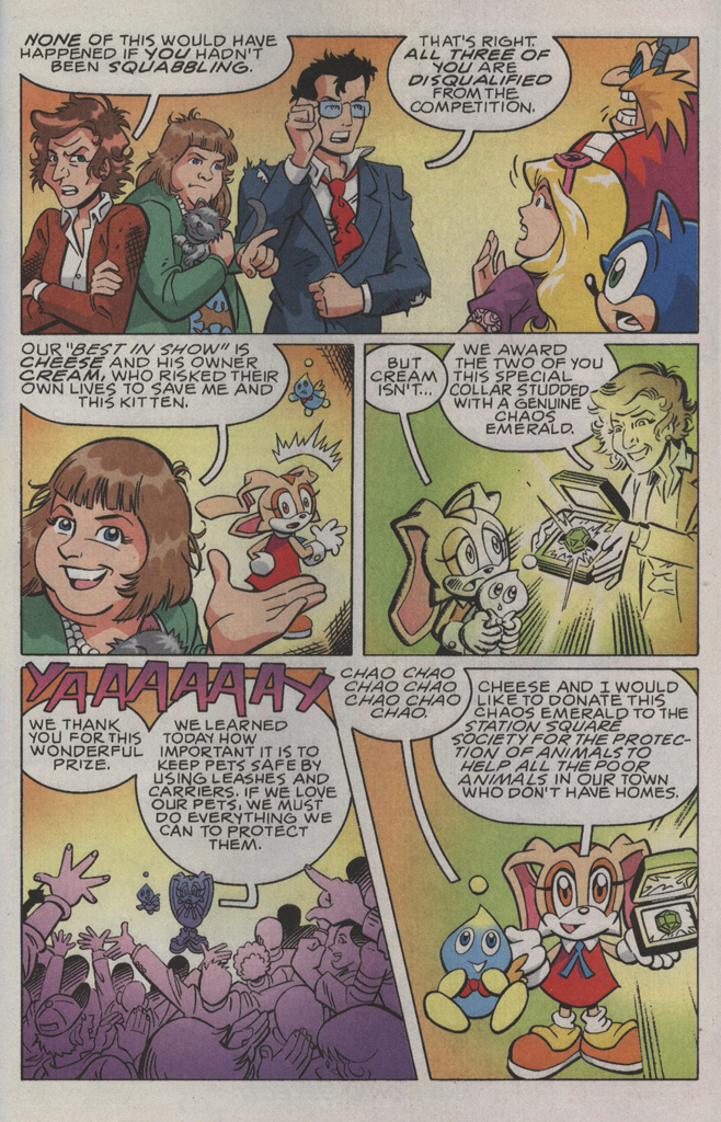 Read online Sonic X comic -  Issue #36 - 31