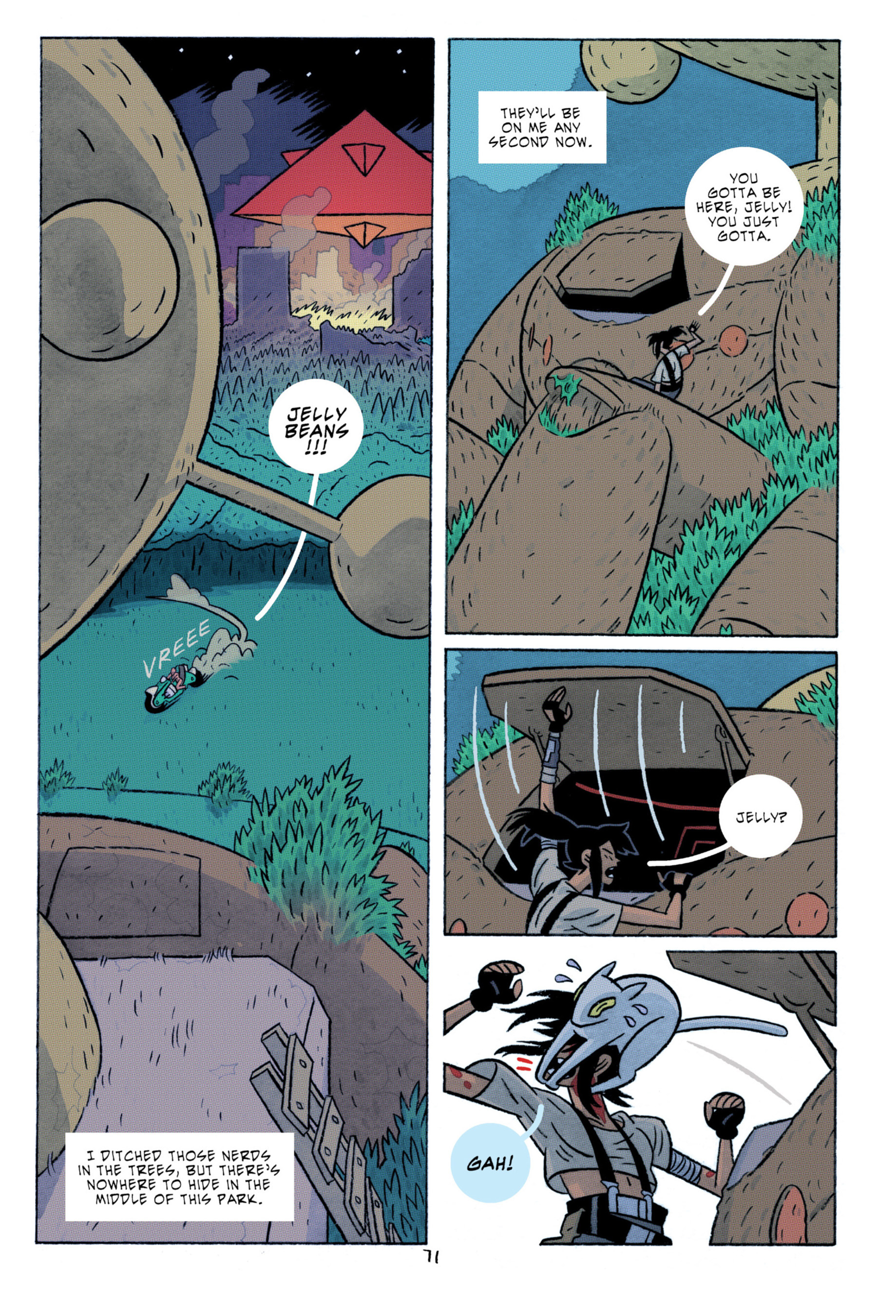 Read online ApocalyptiGirl: An Aria for the End Times comic -  Issue #ApocalyptiGirl: An Aria for the End Times Full - 79