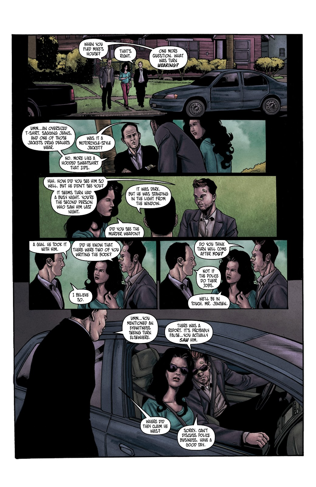 Read online Vindication comic -  Issue #3 - 20