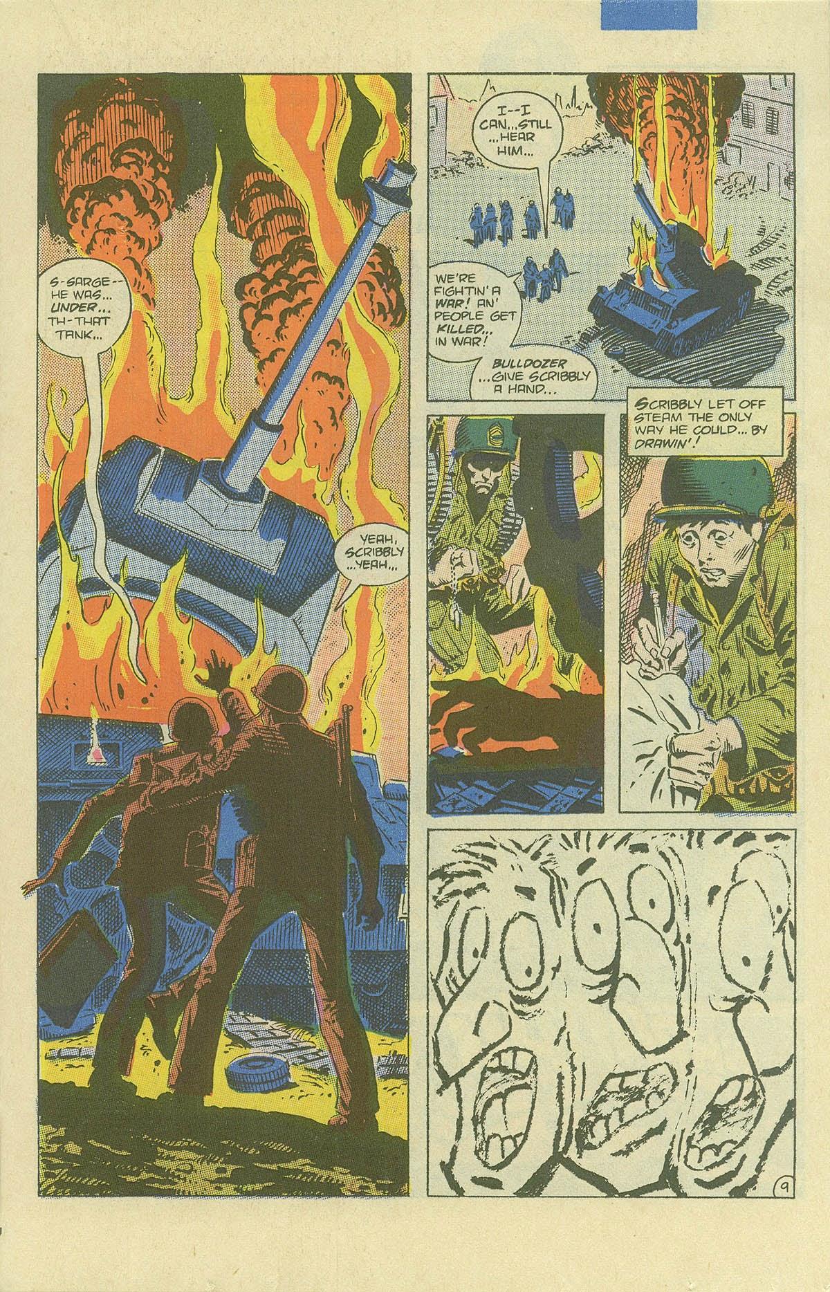 Read online Sgt. Rock comic -  Issue #408 - 14