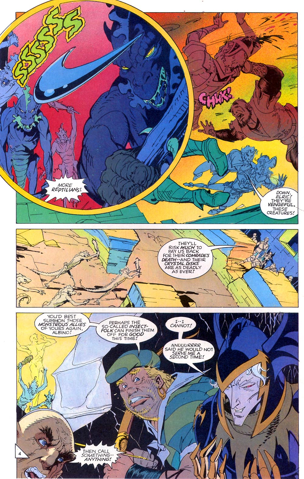 Read online Elric: Sailor on the Seas of Fate comic -  Issue #7 - 5