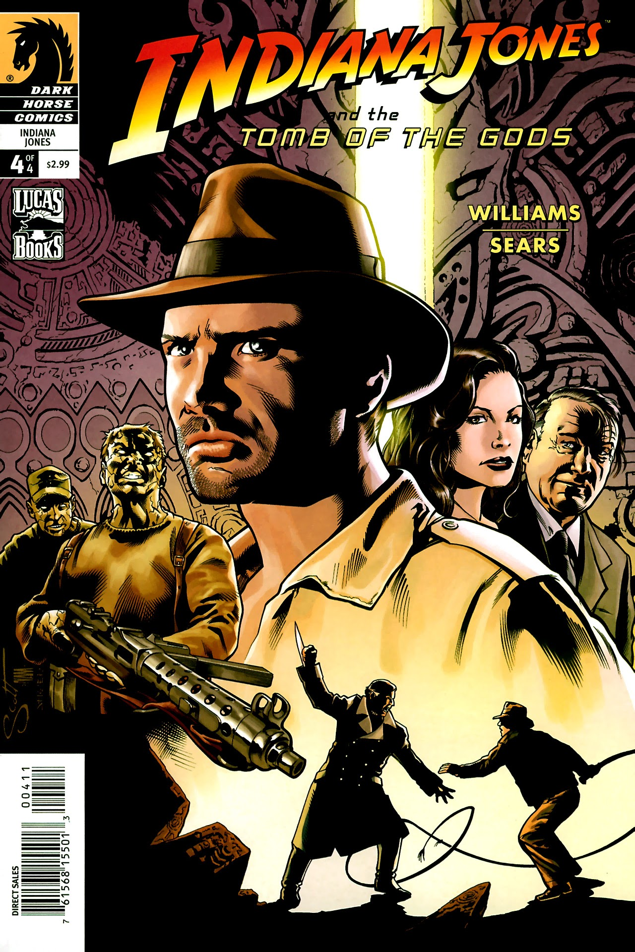 Indiana Jones and the Tomb of the Gods 4 Page 1