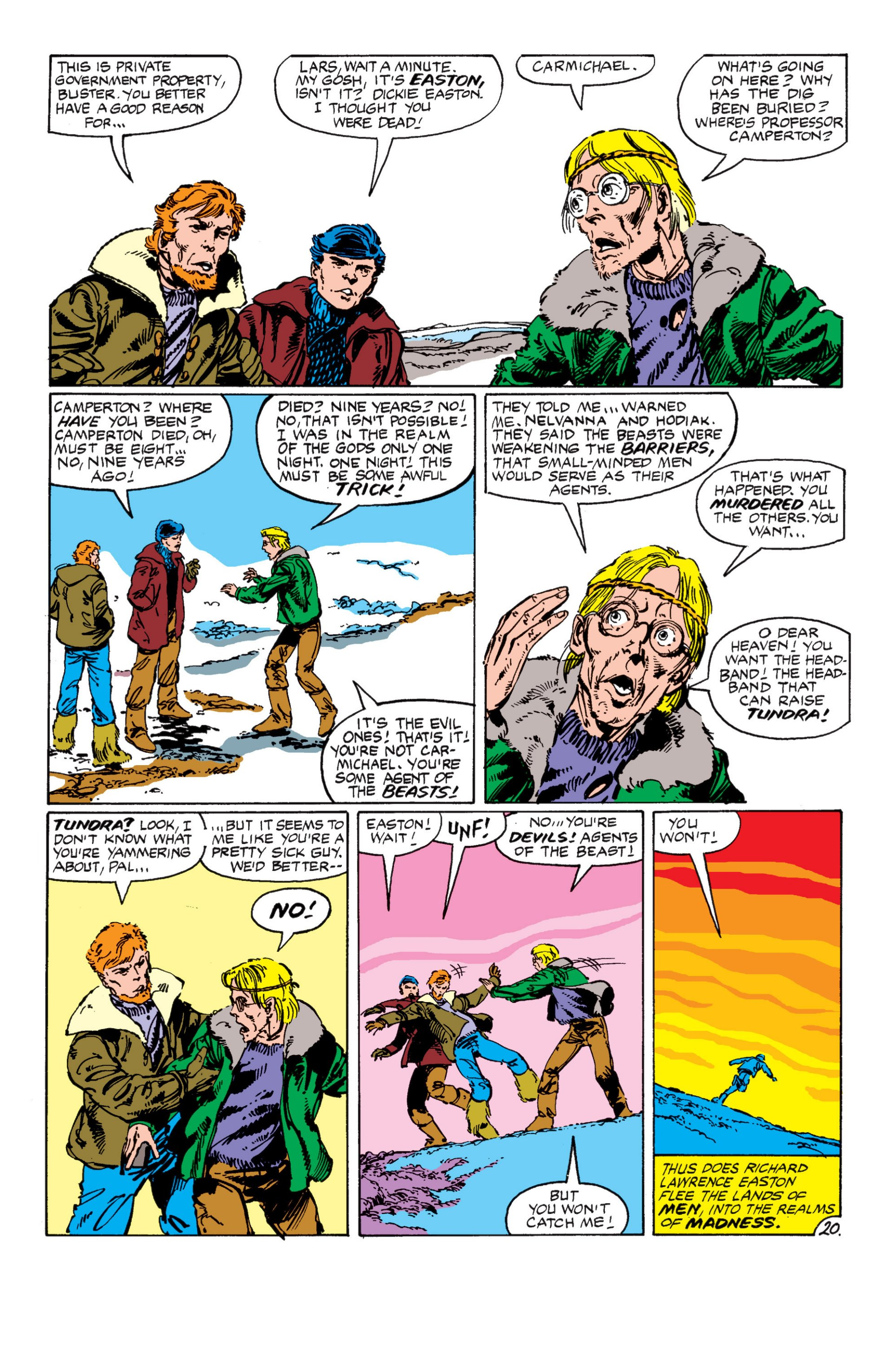 Read online Alpha Flight (1983) comic -  Issue #7 - 21