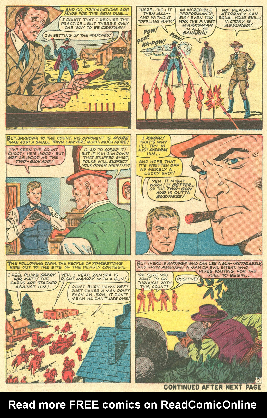 Read online Two-Gun Kid comic -  Issue #81 - 12