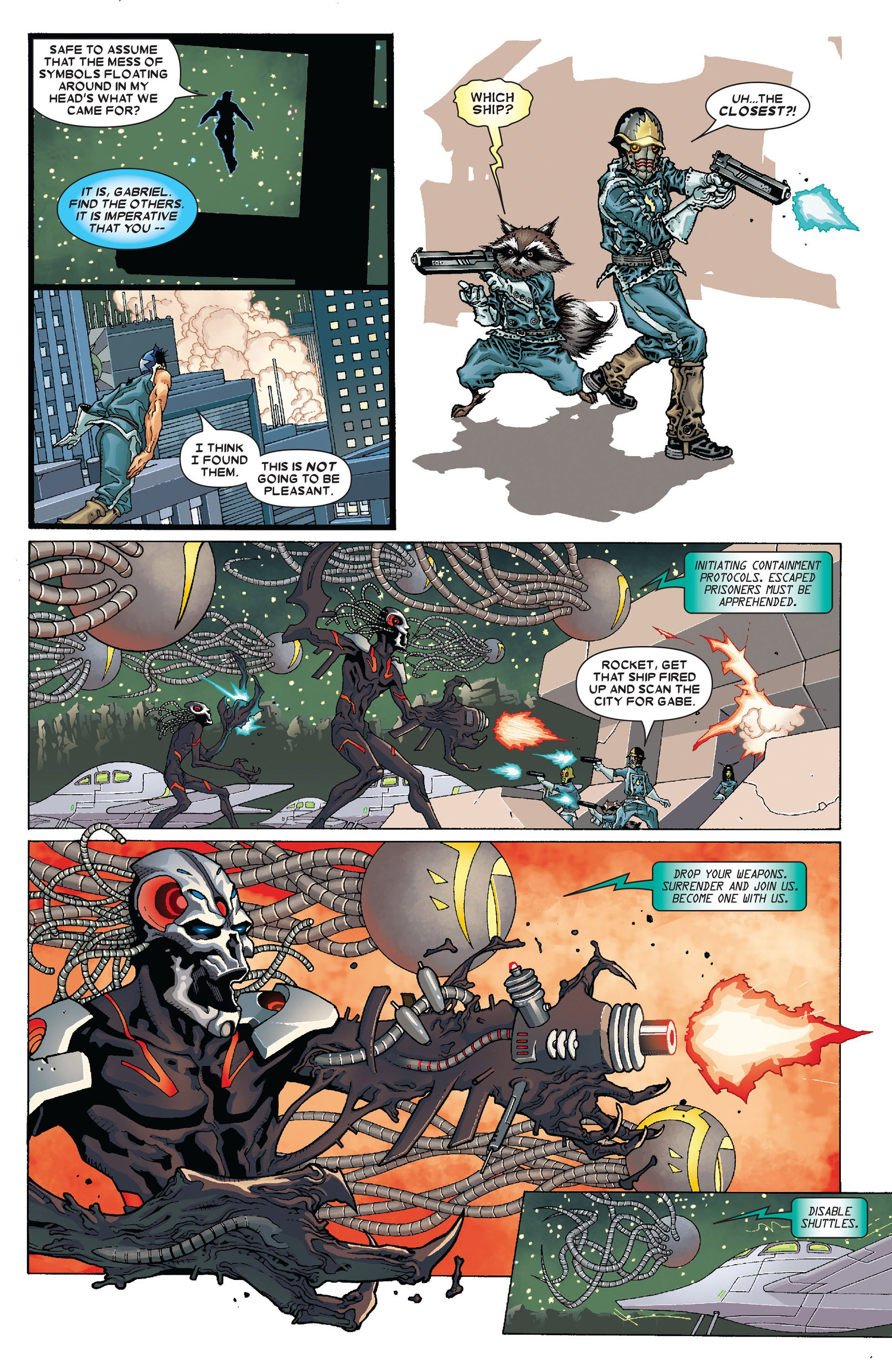 Read online Annihilation: Conquest - Starlord comic -  Issue #4 - 16