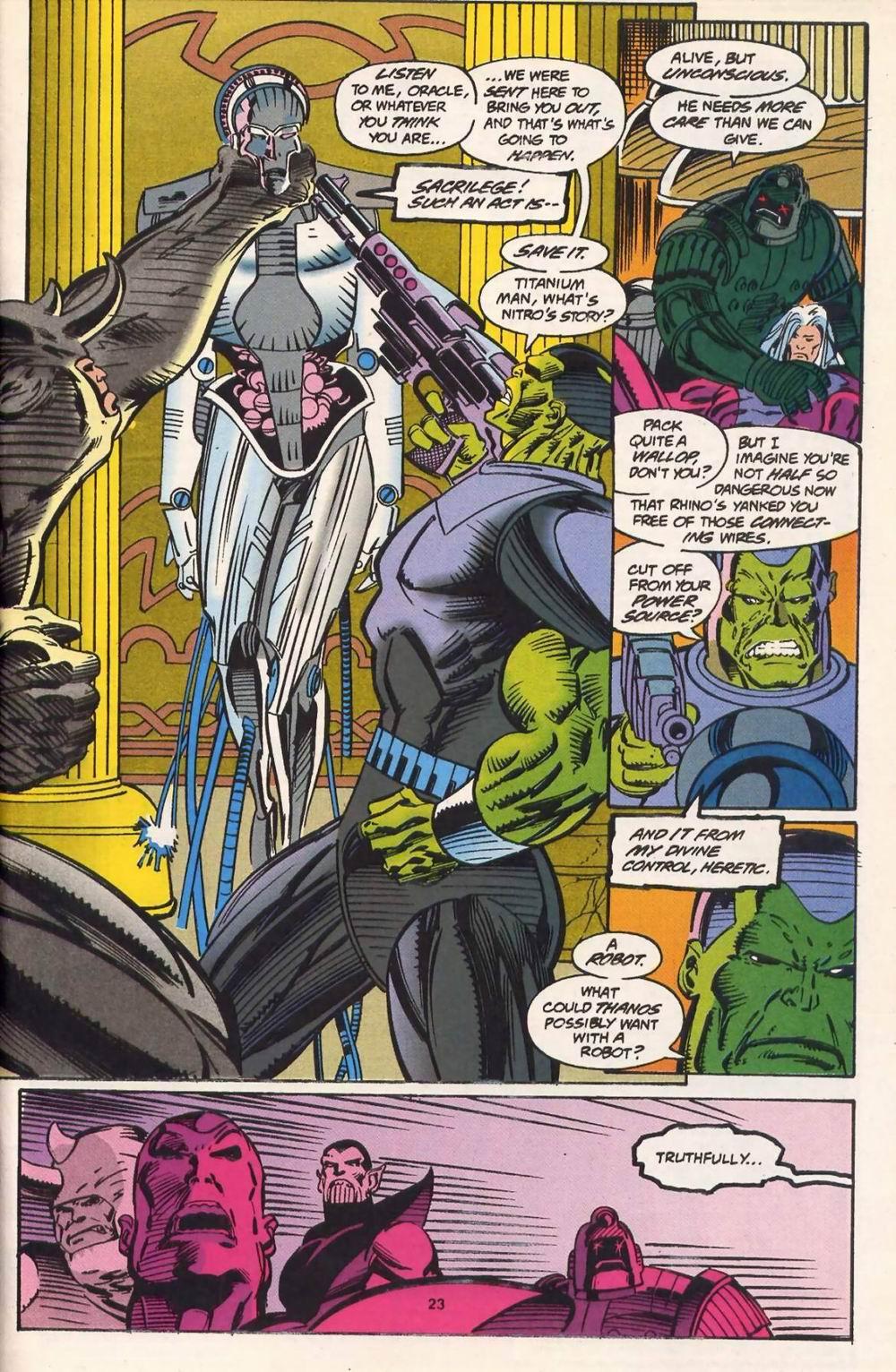 Read online Secret Defenders comic -  Issue #13 - 18