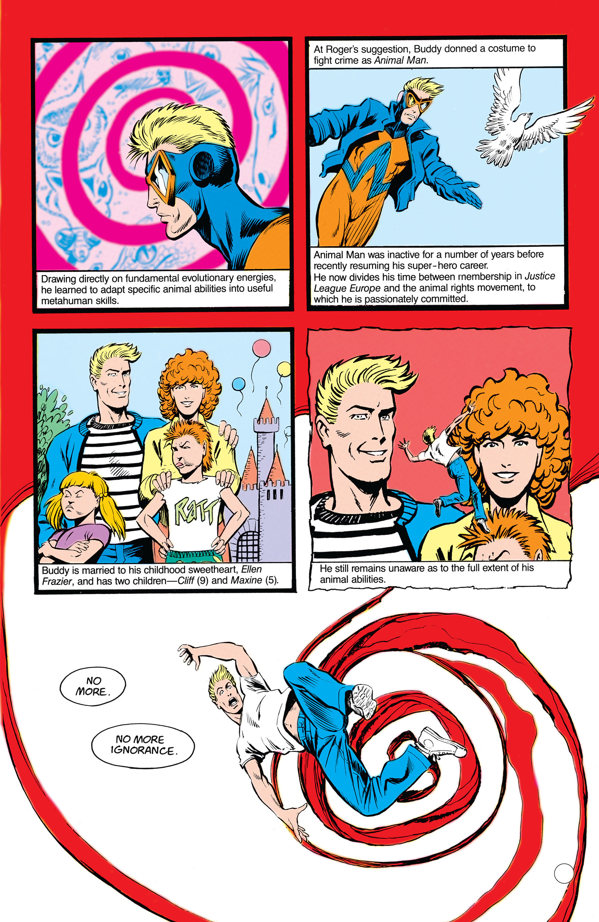 Read online Animal Man (1988) comic -  Issue #19 - 8