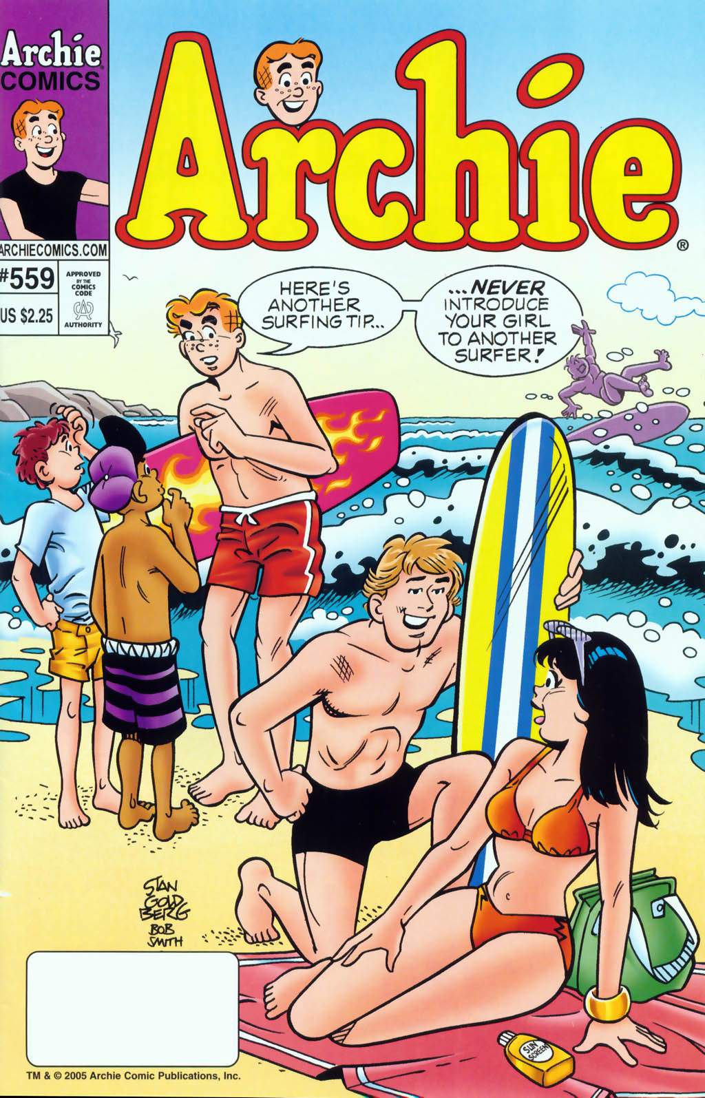 Read online Archie (1960) comic -  Issue #559 - 1