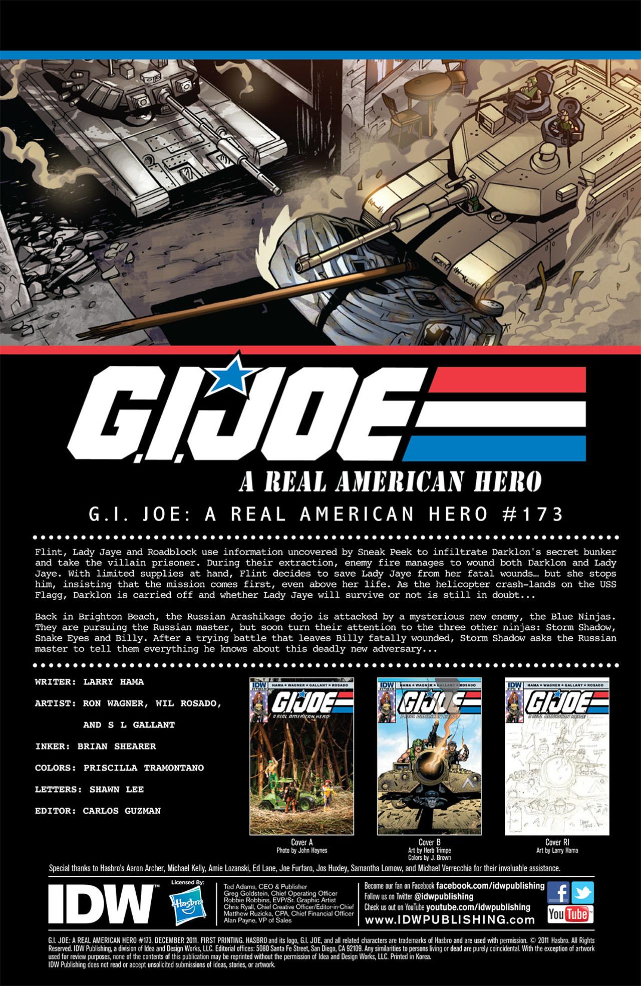 G.I. Joe: A Real American Hero 173 Page 3