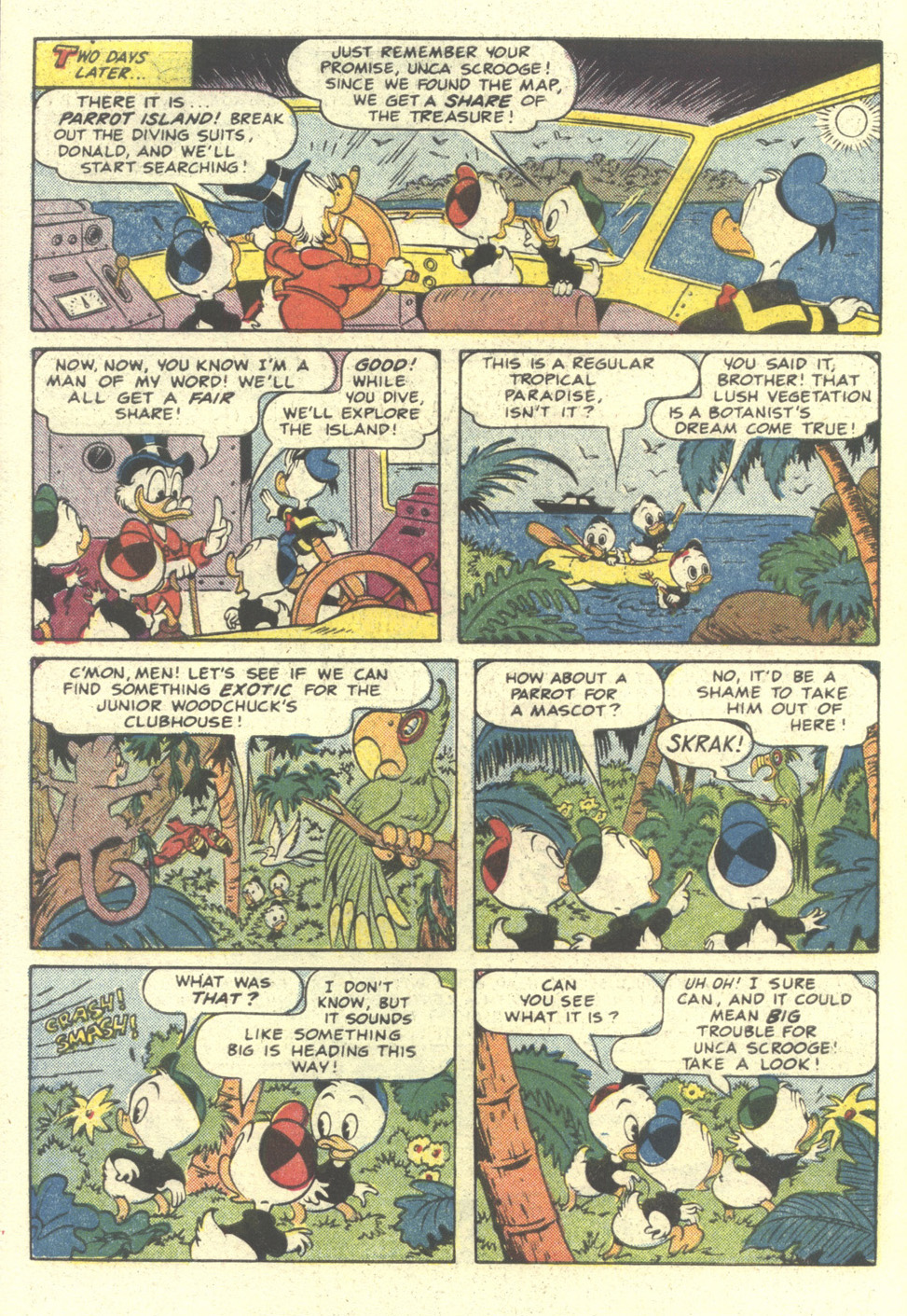 Read online Uncle Scrooge (1953) comic -  Issue #212 - 6