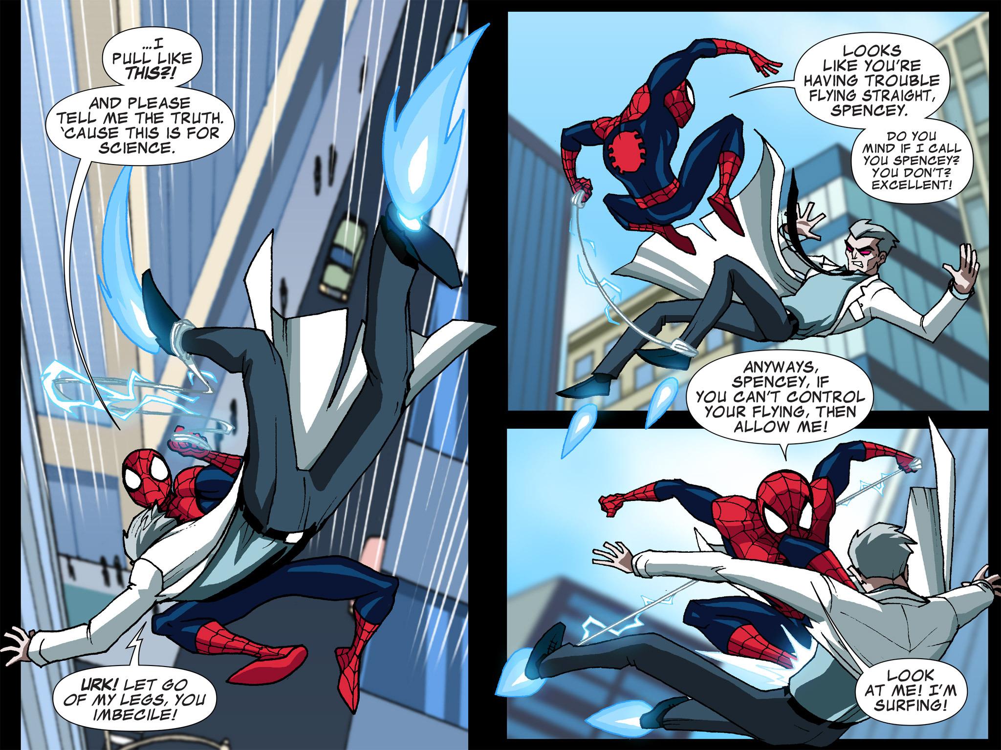 Read online Ultimate Spider-Man (Infinite Comics) (2015) comic -  Issue #5 - 31