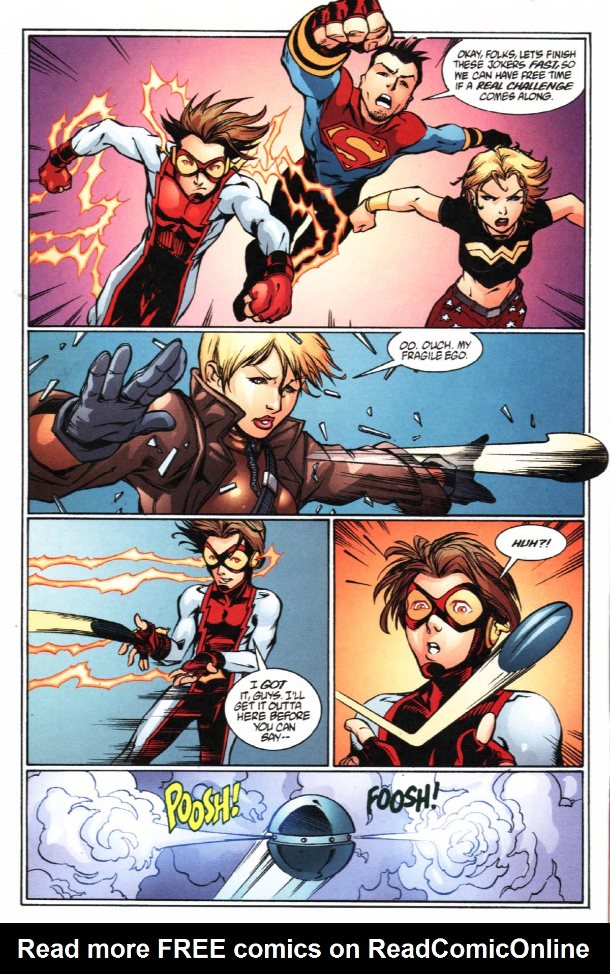 Read online SpyBoy/Young Justice comic -  Issue #2 - 7