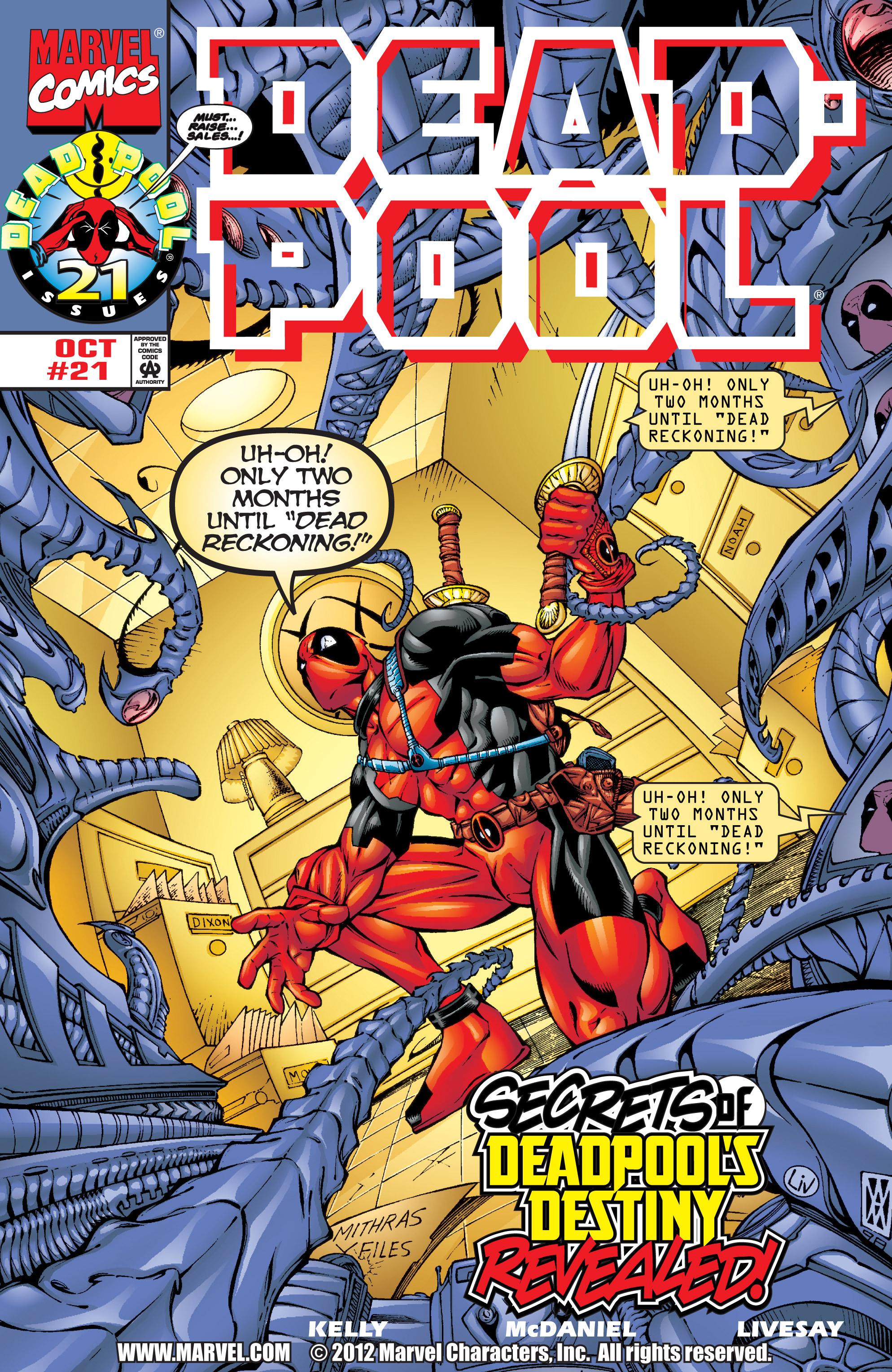 Deadpool (1997) 21 Page 1