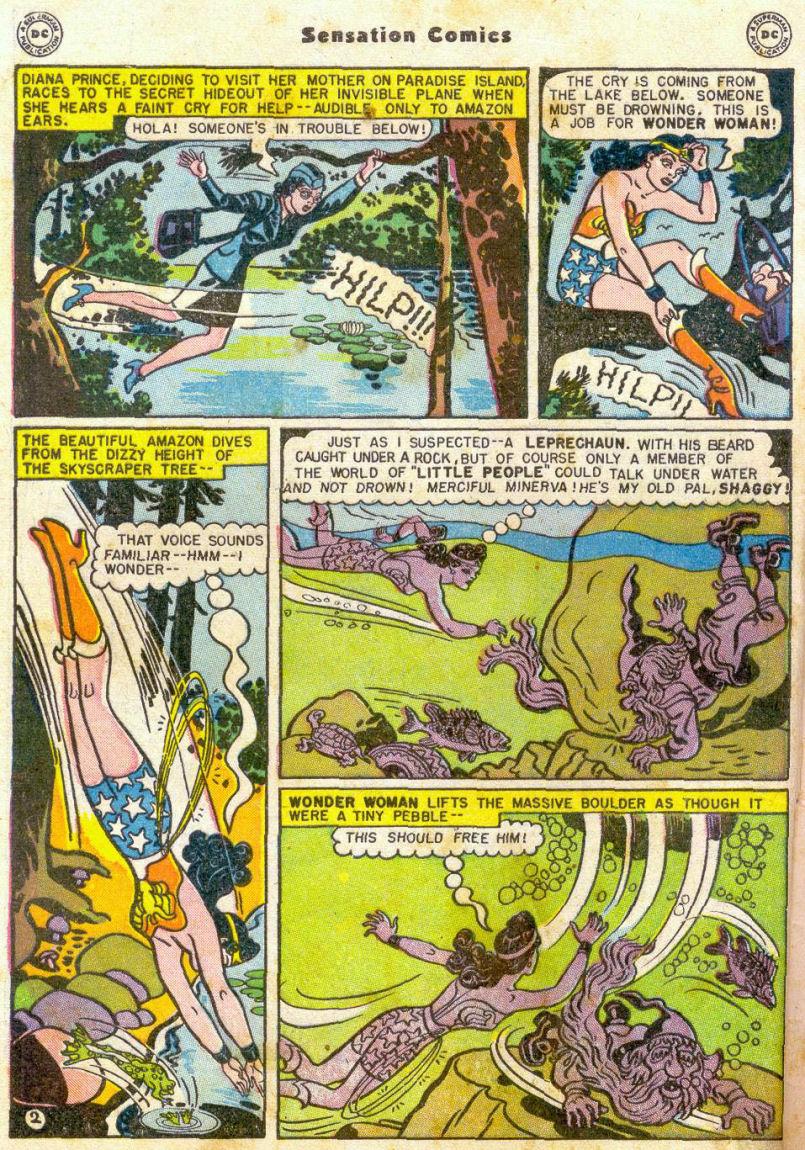 Read online Sensation (Mystery) Comics comic -  Issue #75 - 3