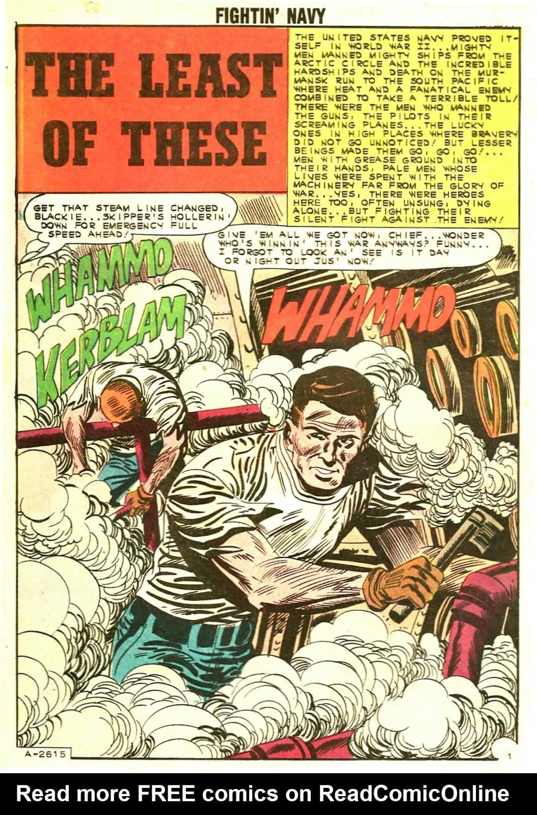 Read online Fightin' Navy comic -  Issue #110 - 16