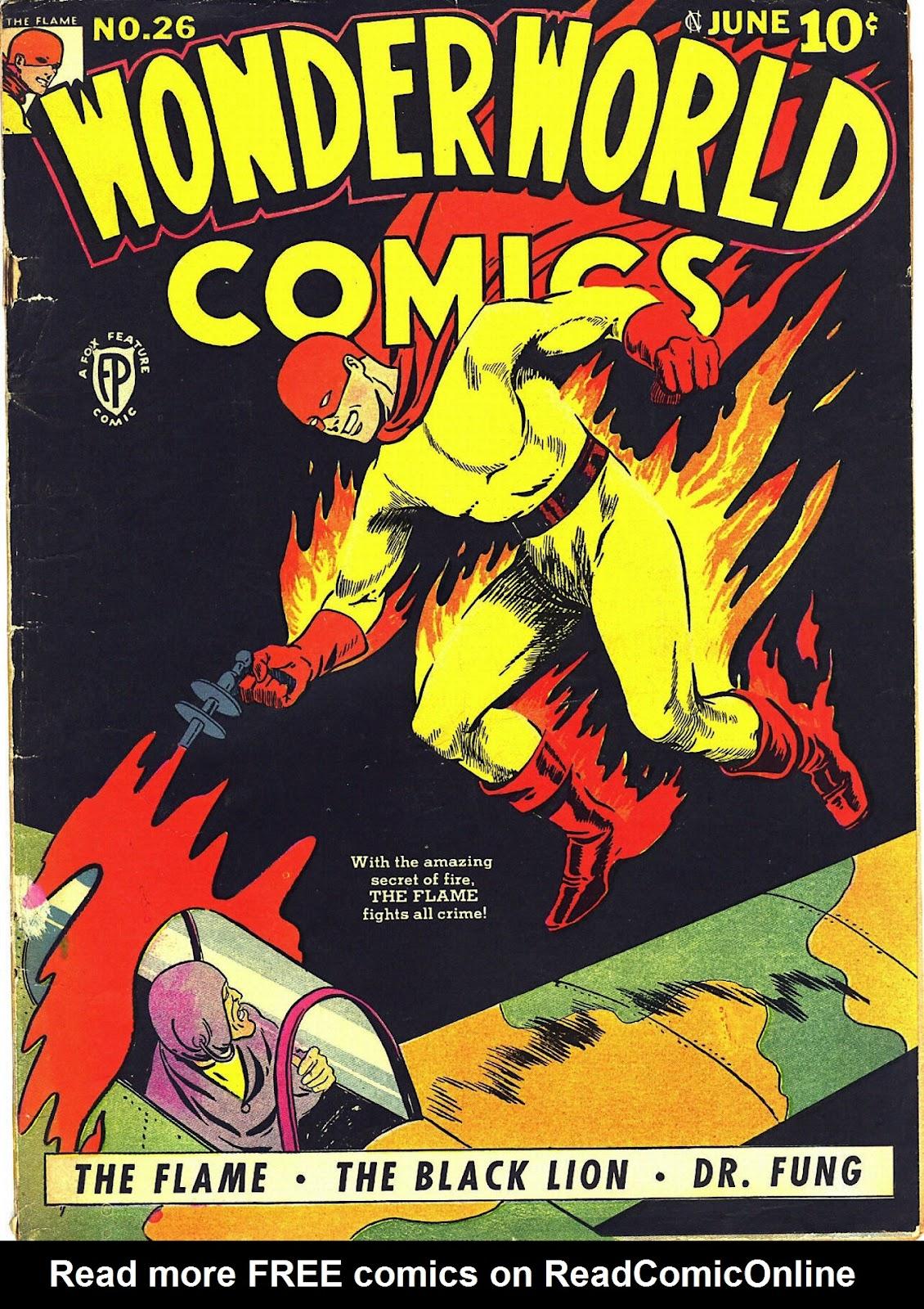 Wonderworld Comics issue 26 - Page 1