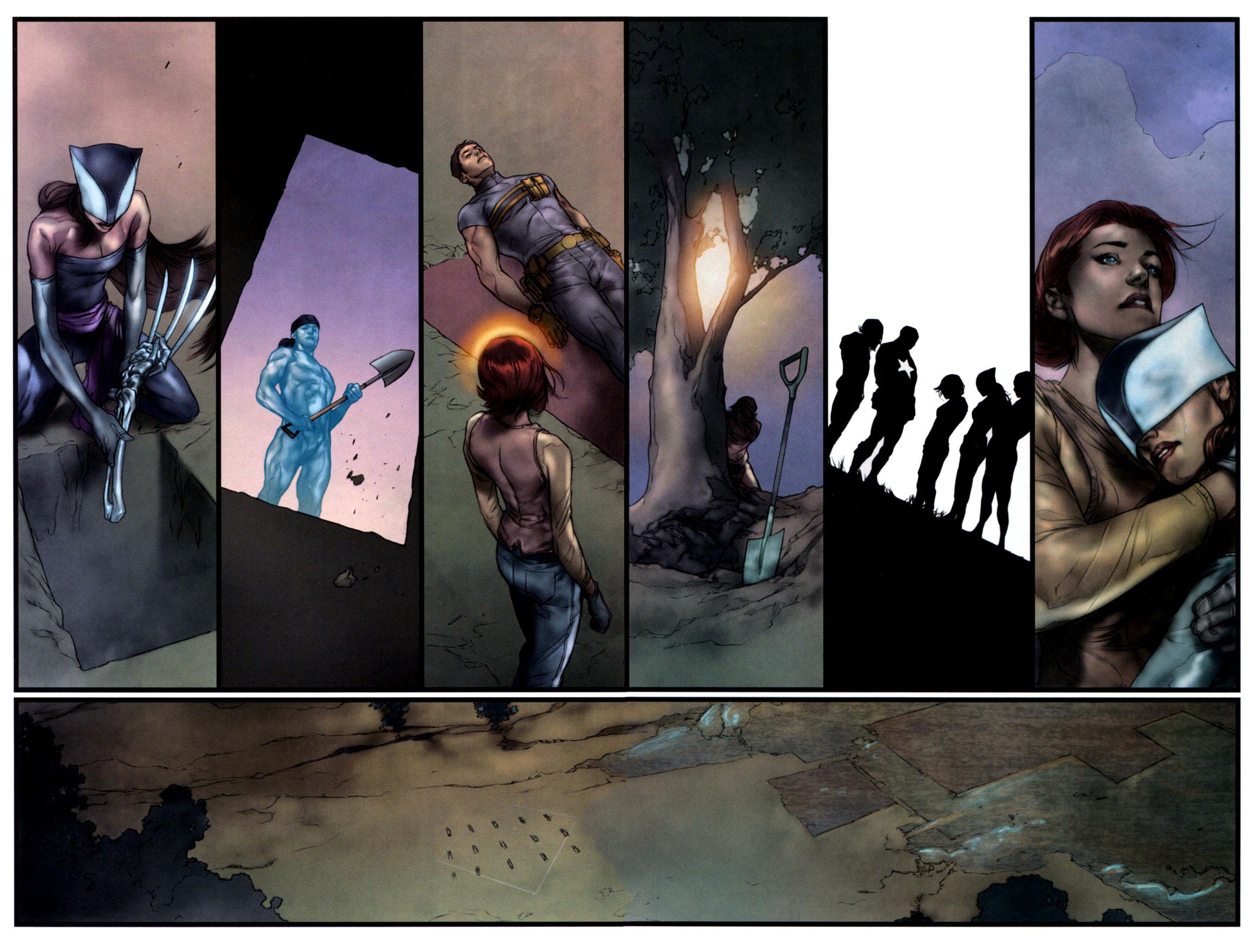Read online Ultimatum: X-Men Requiem comic -  Issue # Full - 25