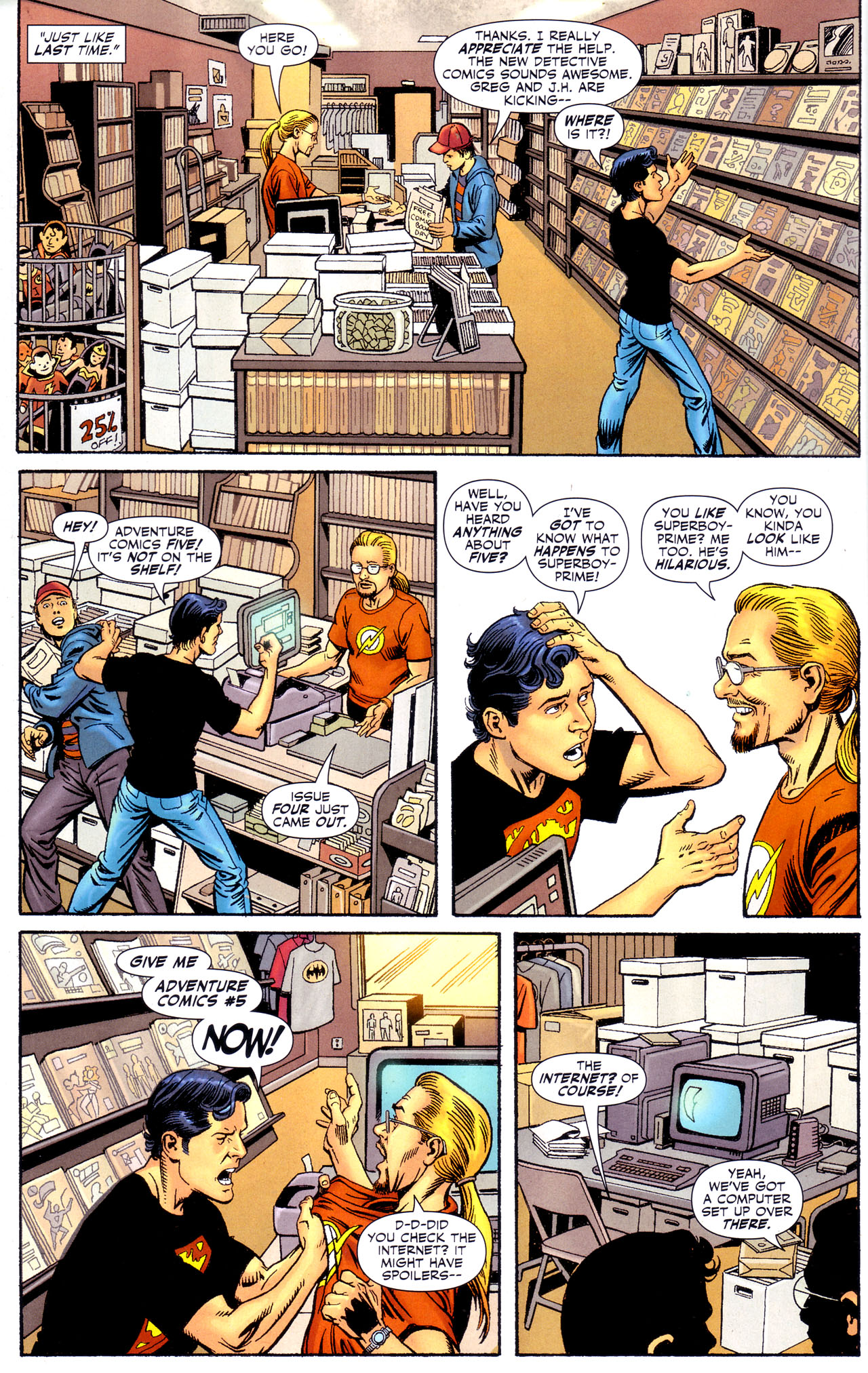 Read online Adventure Comics (2009) comic -  Issue #4 - 13