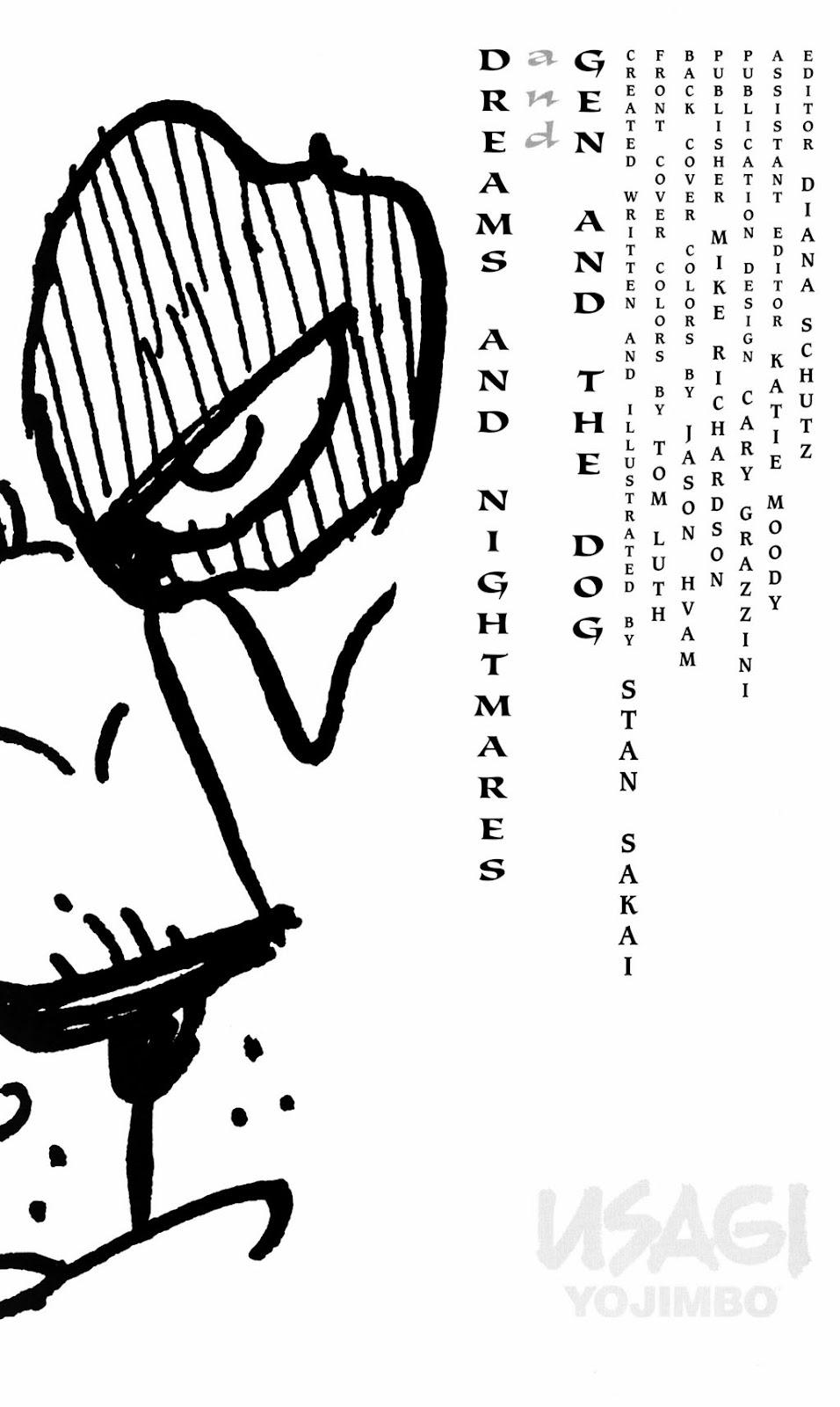 Usagi Yojimbo (1996) Issue #79 #79 - English 2