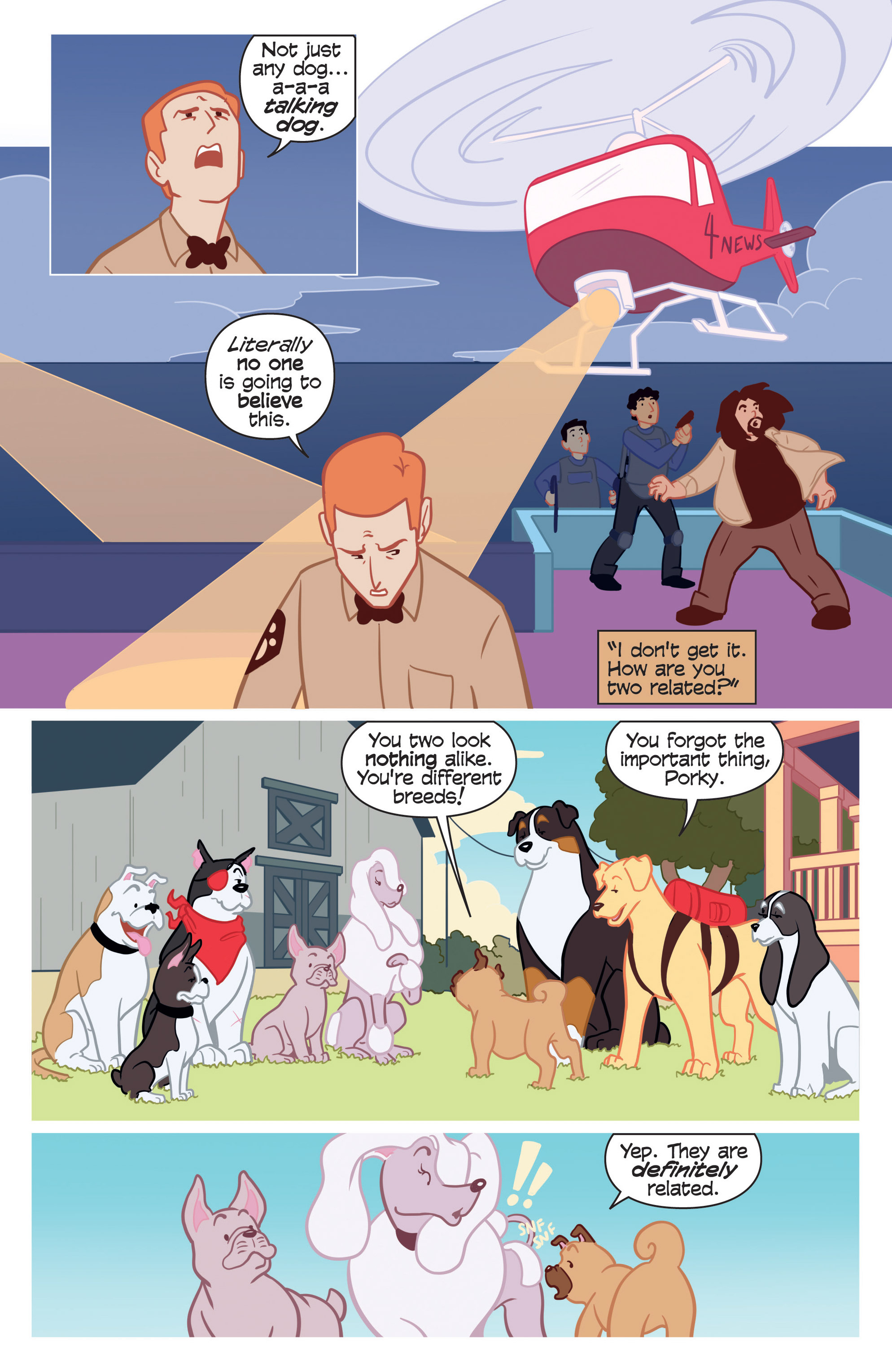 Read online Action Lab, Dog of Wonder comic -  Issue #3 - 19