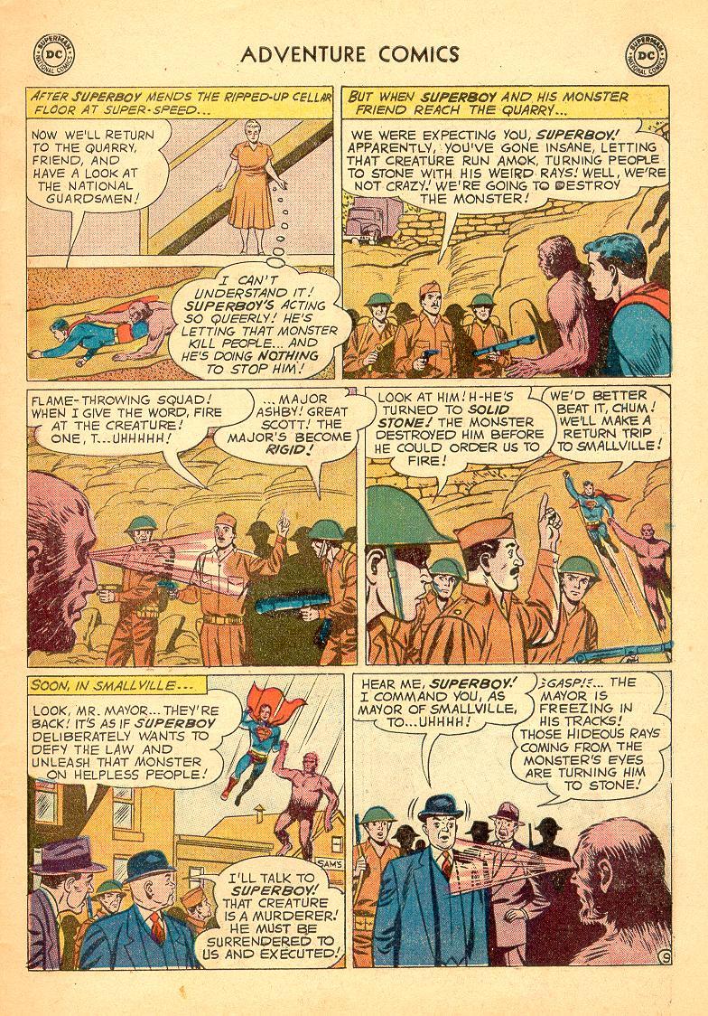 Read online Adventure Comics (1938) comic -  Issue #274 - 11