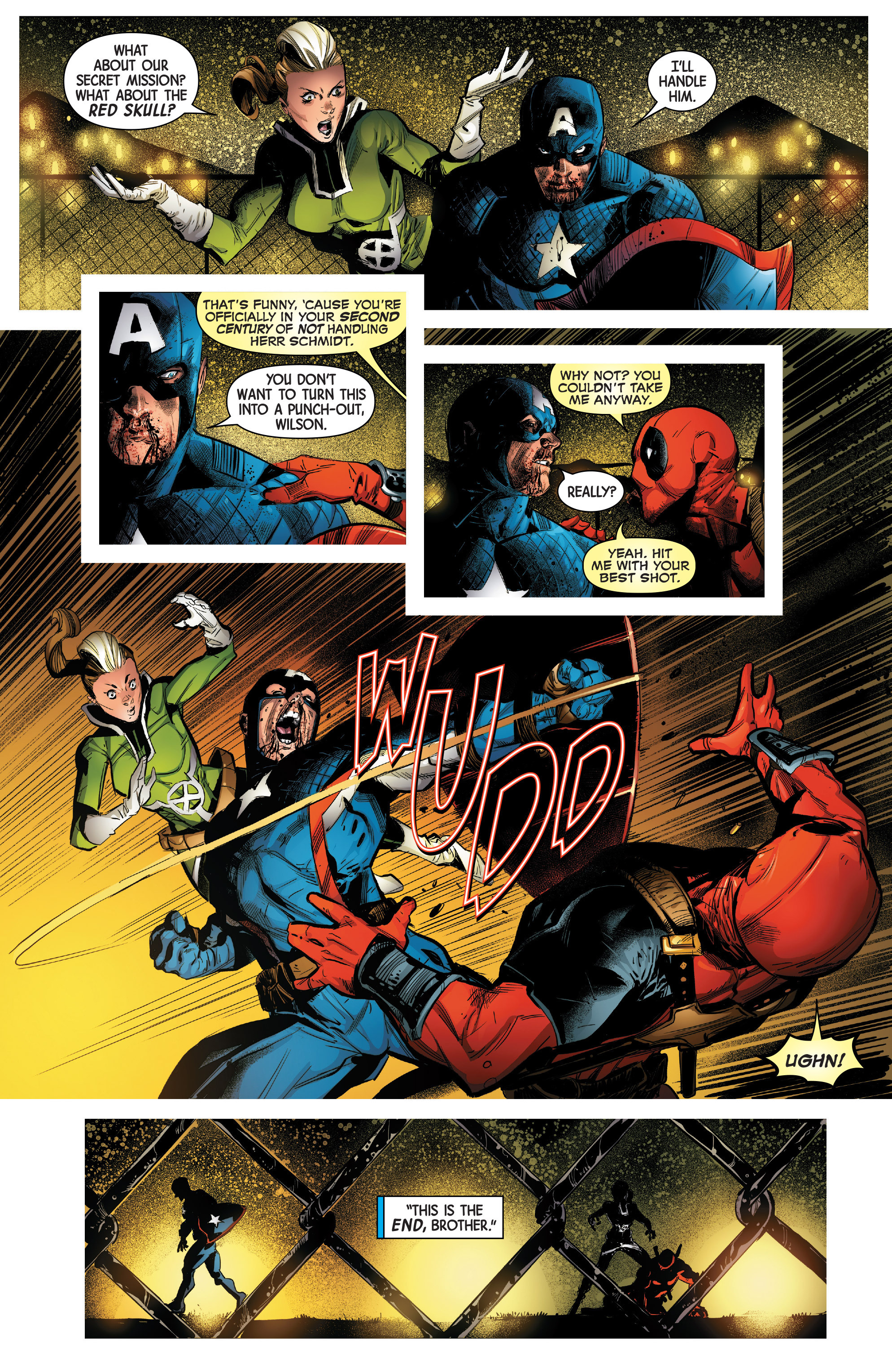 Read online Uncanny Avengers [II] comic -  Issue #14 - 19