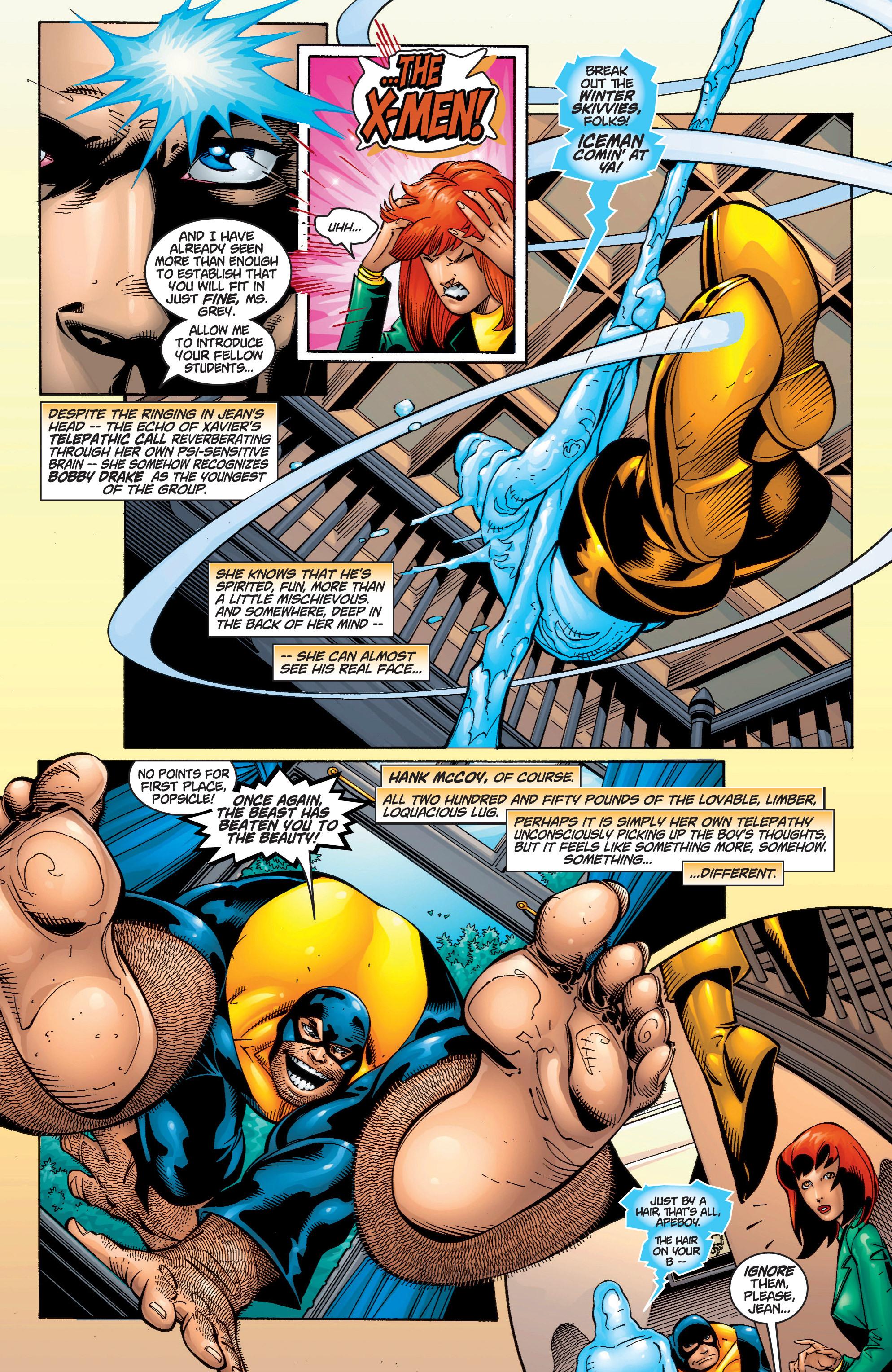 Read online Uncanny X-Men (1963) comic -  Issue #378 - 4