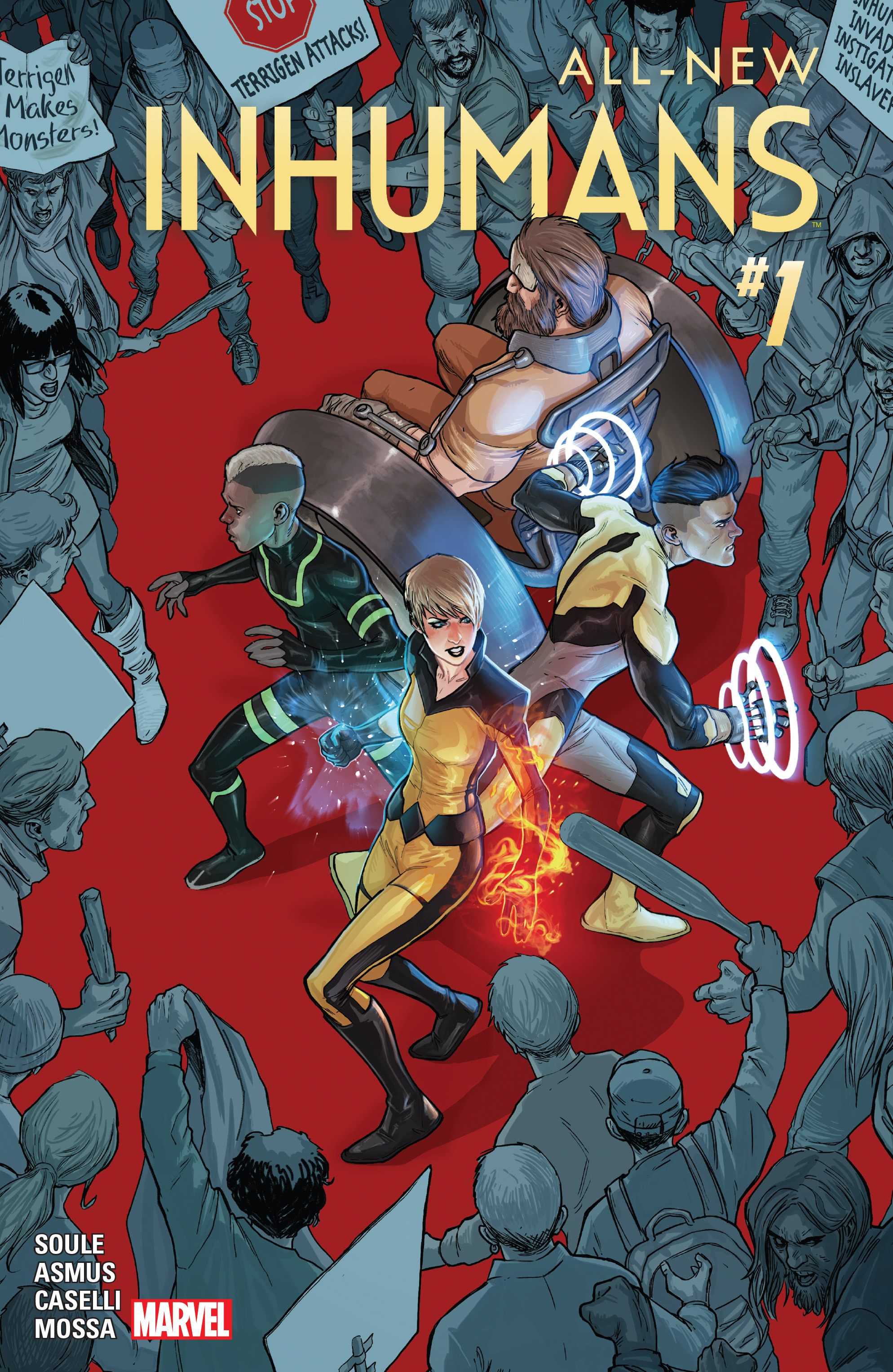 Read online All-New Inhumans comic -  Issue #1 - 1