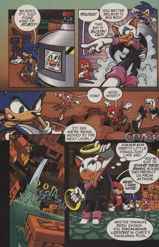 Read online Sonic X comic -  Issue #11 - 10