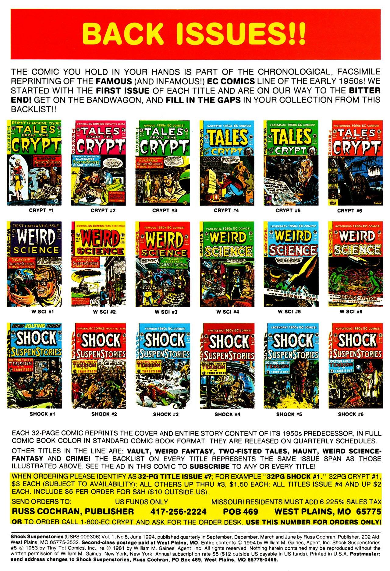 Read online Shock SuspenStories comic -  Issue #8 - 2