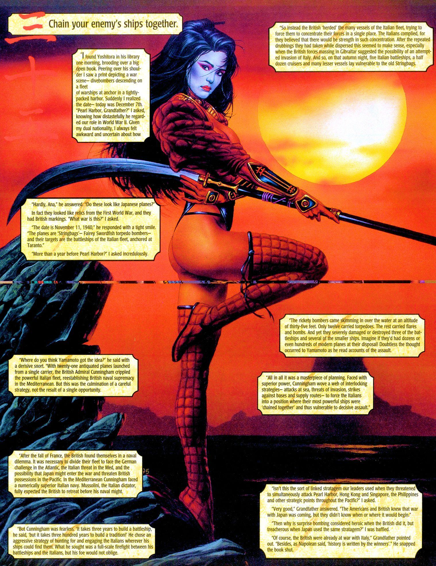 Read online Shi: Senryaku comic -  Issue #3 - 14