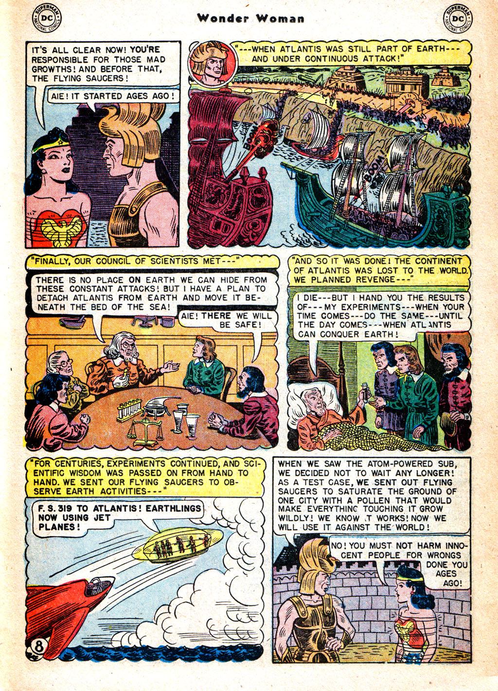 Read online Wonder Woman (1942) comic -  Issue #57 - 24