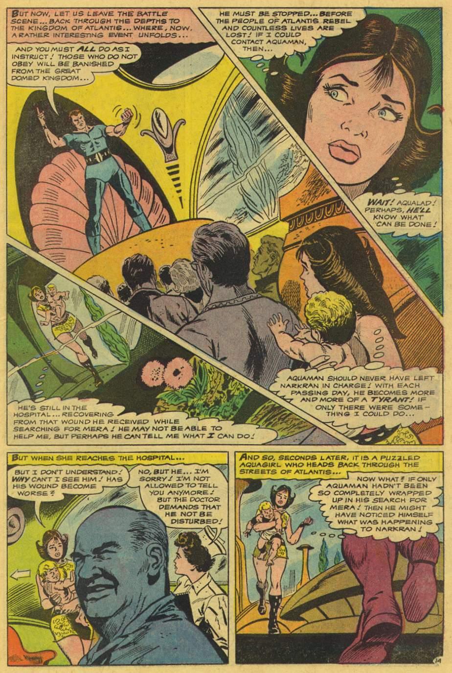Read online Aquaman (1962) comic -  Issue #42 - 19