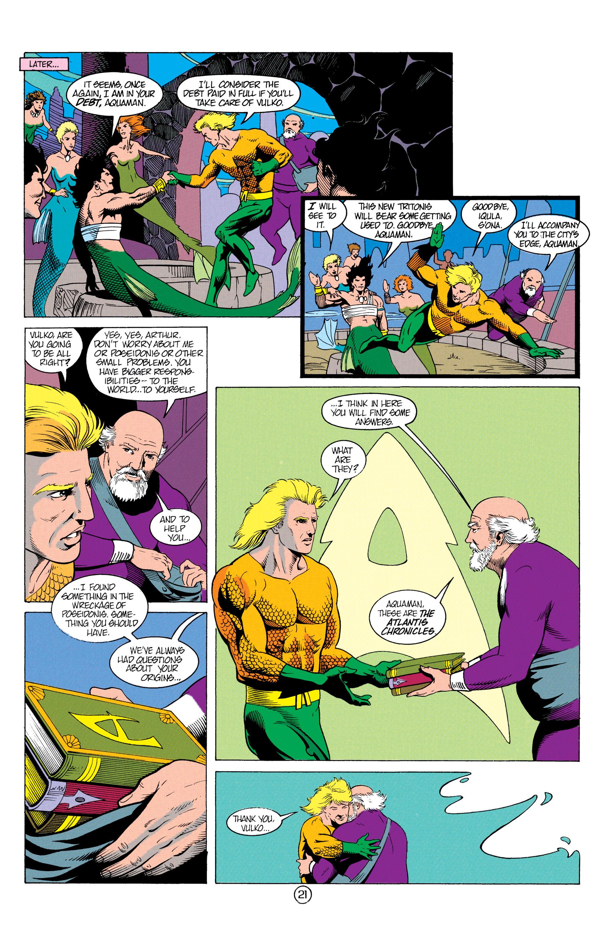 Read online Aquaman (1991) comic -  Issue #12 - 21