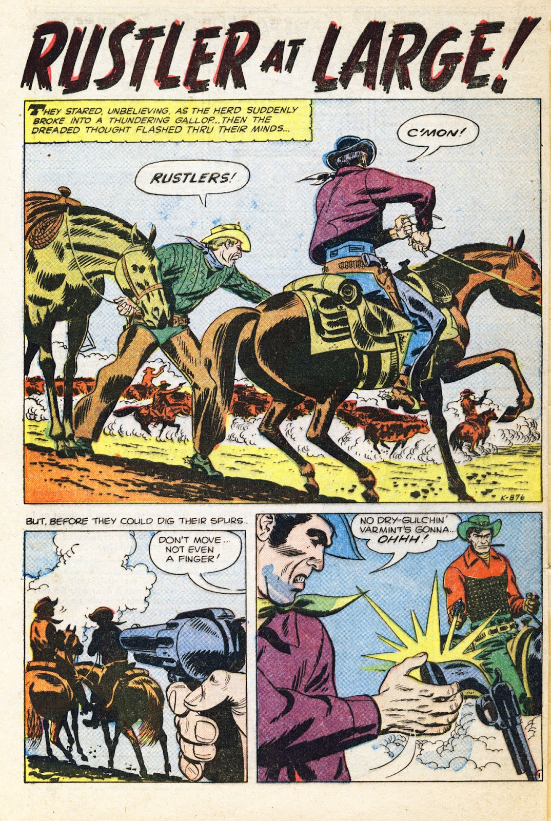 Gunsmoke Western issue 38 - Page 29