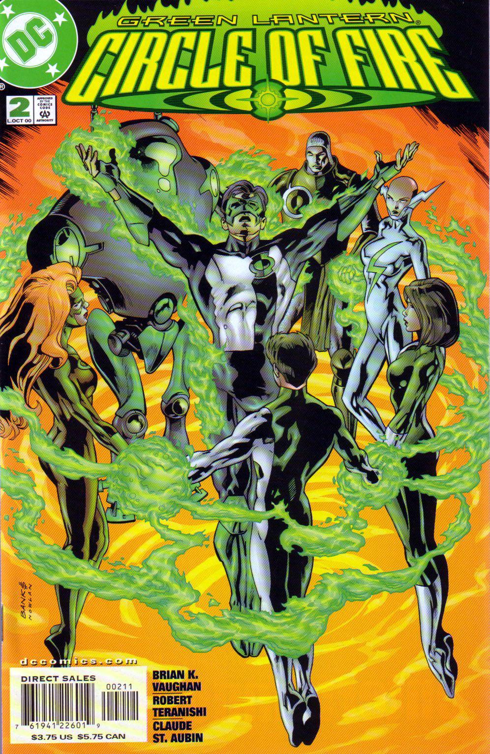 Green Lantern: Circle of Fire 7 Page 1