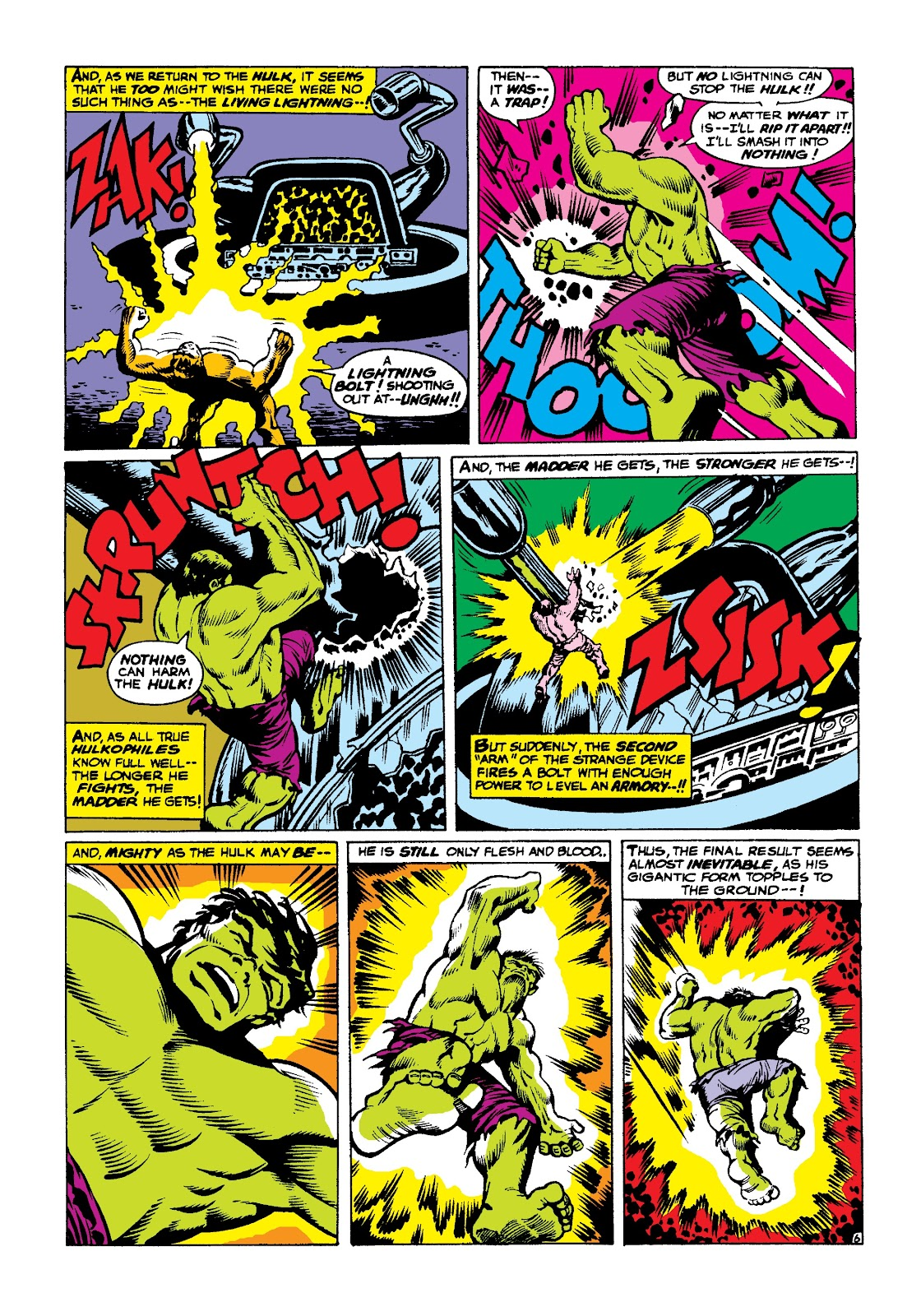 Read online Marvel Masterworks: The Incredible Hulk comic -  Issue # TPB 3 (Part 2) - 100