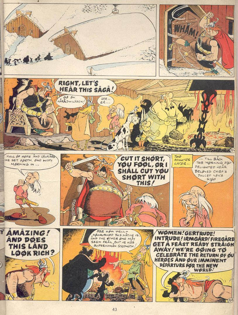 Read online Asterix comic -  Issue #22 - 40